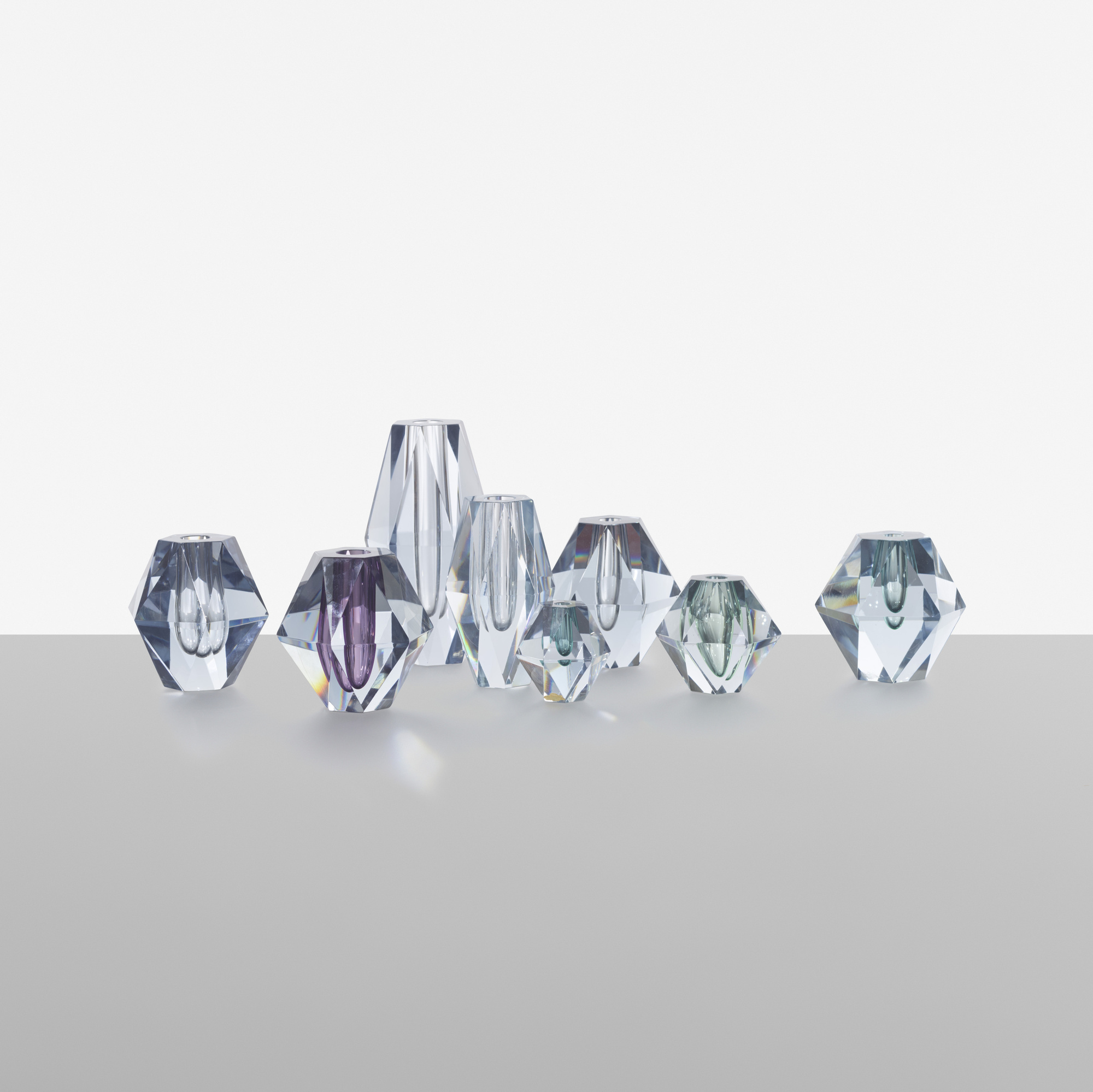 175: Asta Strömberg / collection of eight Diamond vases (2 of 4)