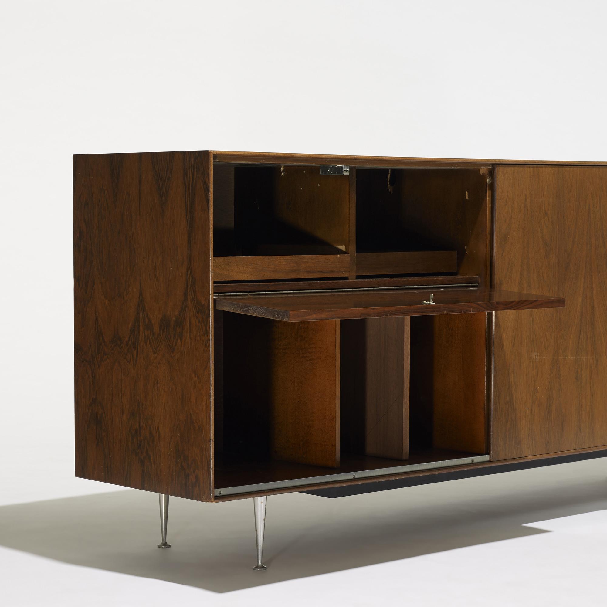 ... 175: George Nelson U0026 Associates / Thin Edge TV Cabinet, Model 5718 (3