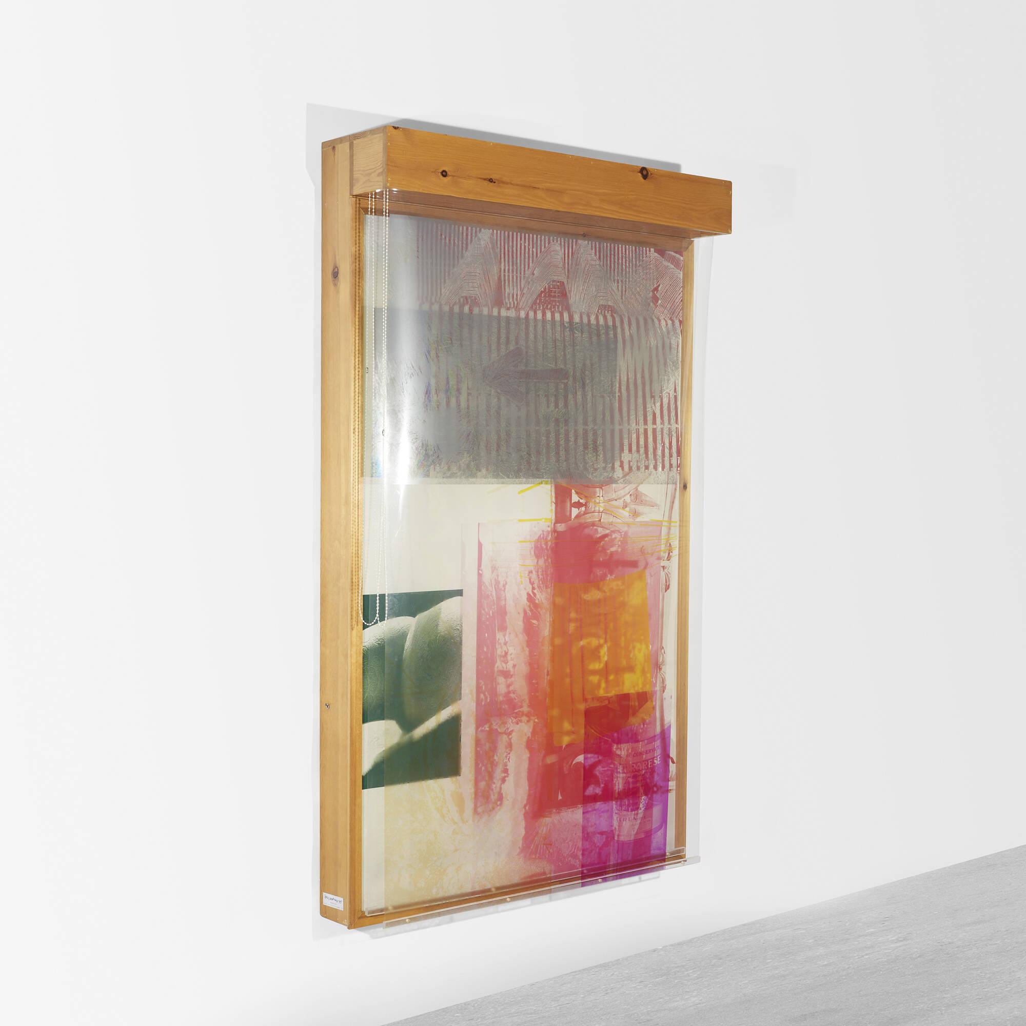 ROBERT RAUSCHENBERG SlingShots Lit No Art Design - Lit design 2015
