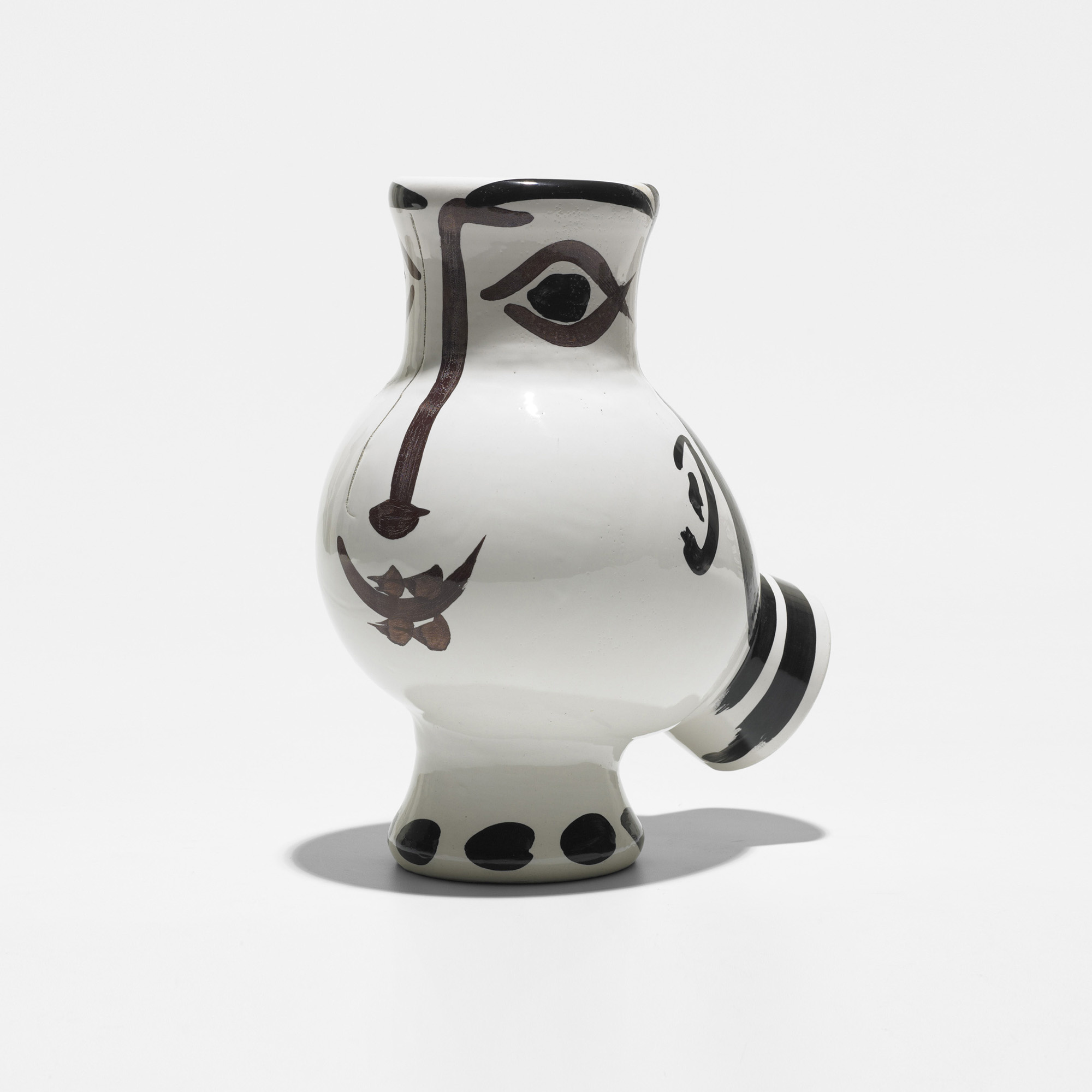 176 pablo picasso woman faced wood owl vase modern design 18 176 pablo picasso woman faced wood owl vase 1 of 8 reviewsmspy