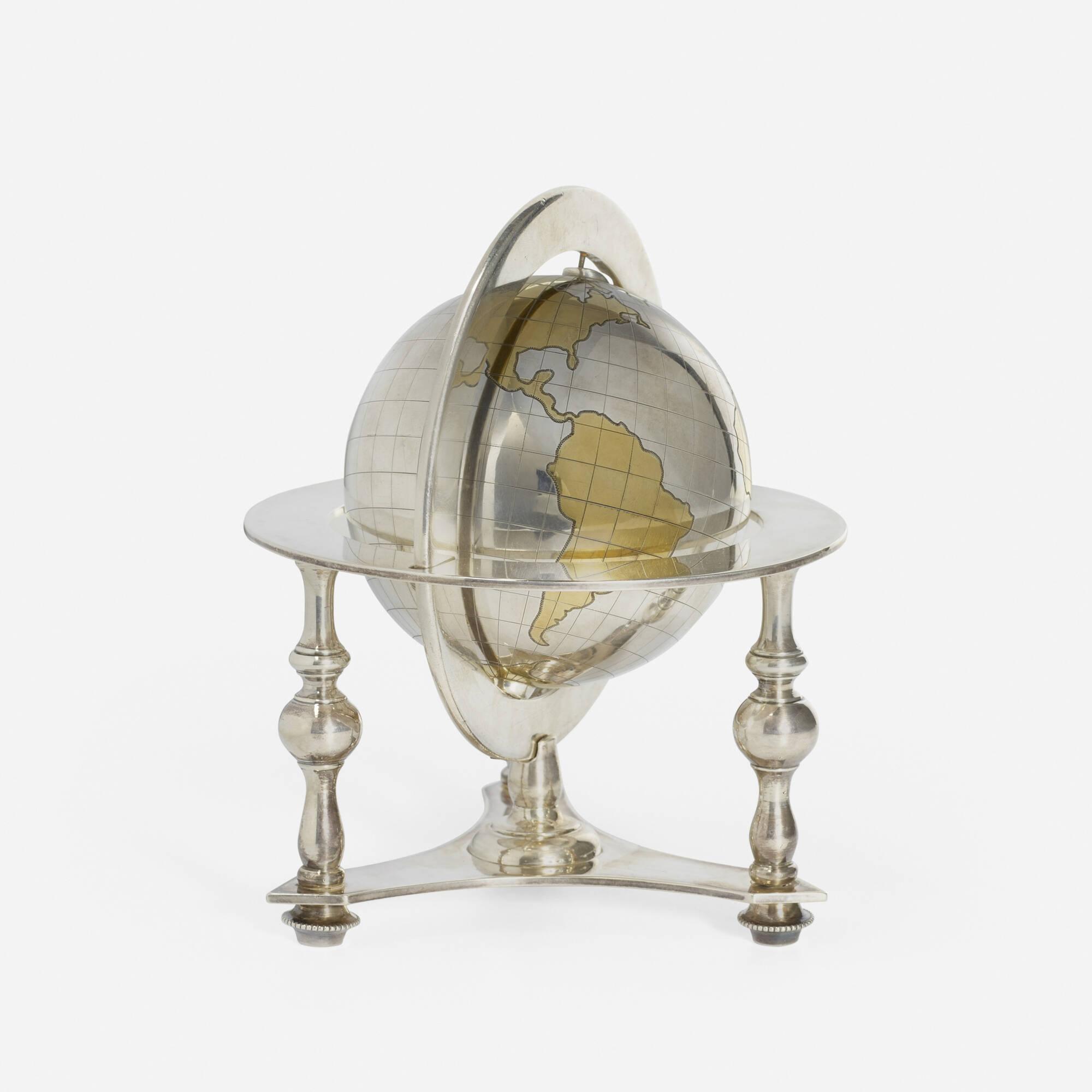 176: Bulgari / A silver table globe (2 of 2)