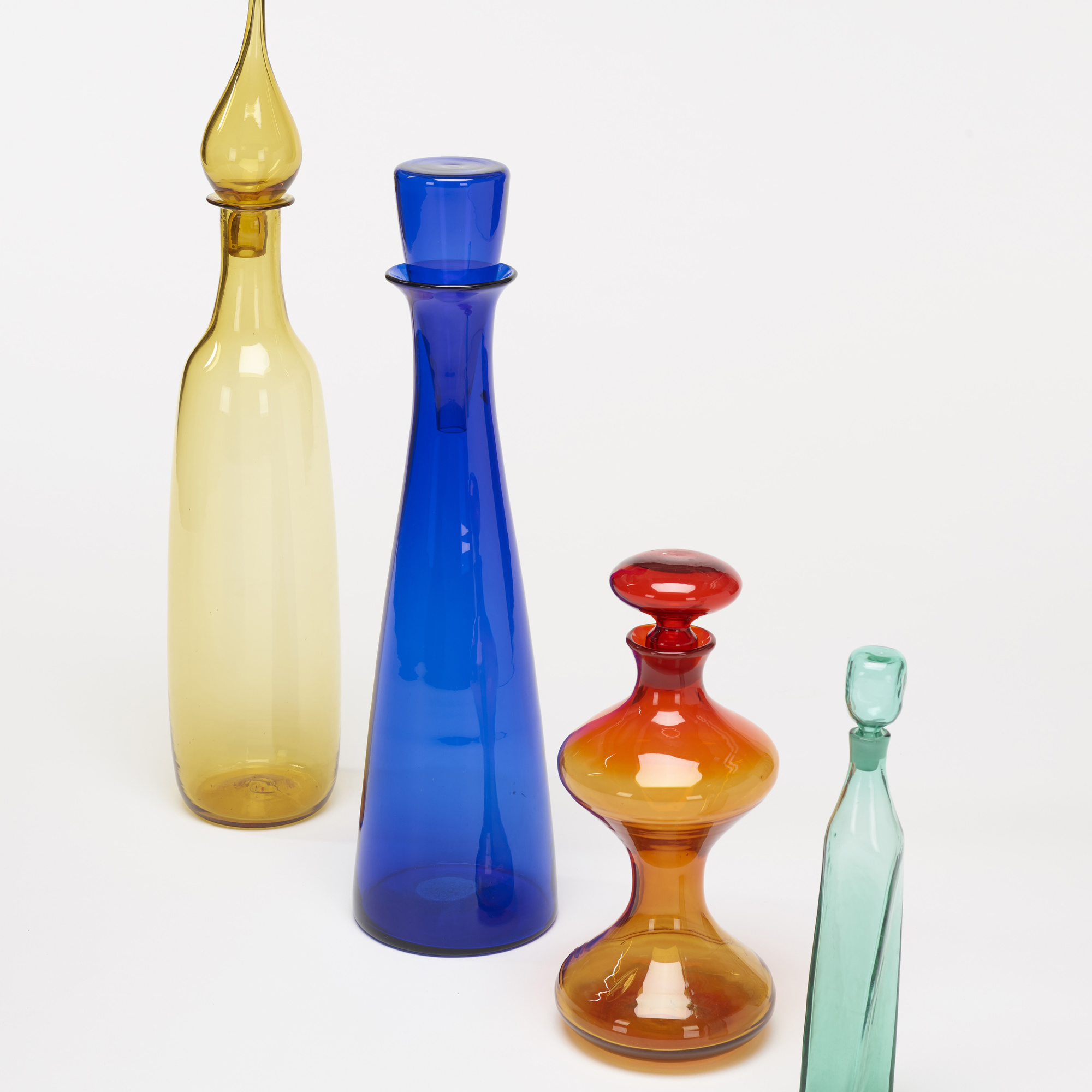176: Blenko Glass Company / collection of four bottles (2 of 2)