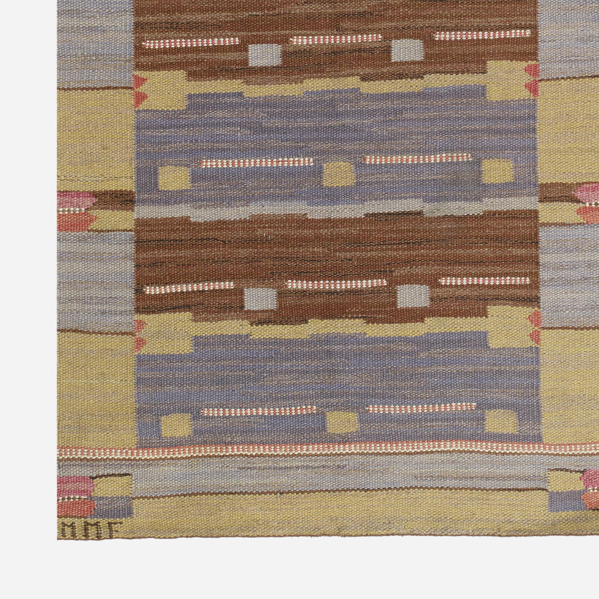 176: Märta Måås-Fjetterström / Blåsvarten flatweave carpet (2 of 2)