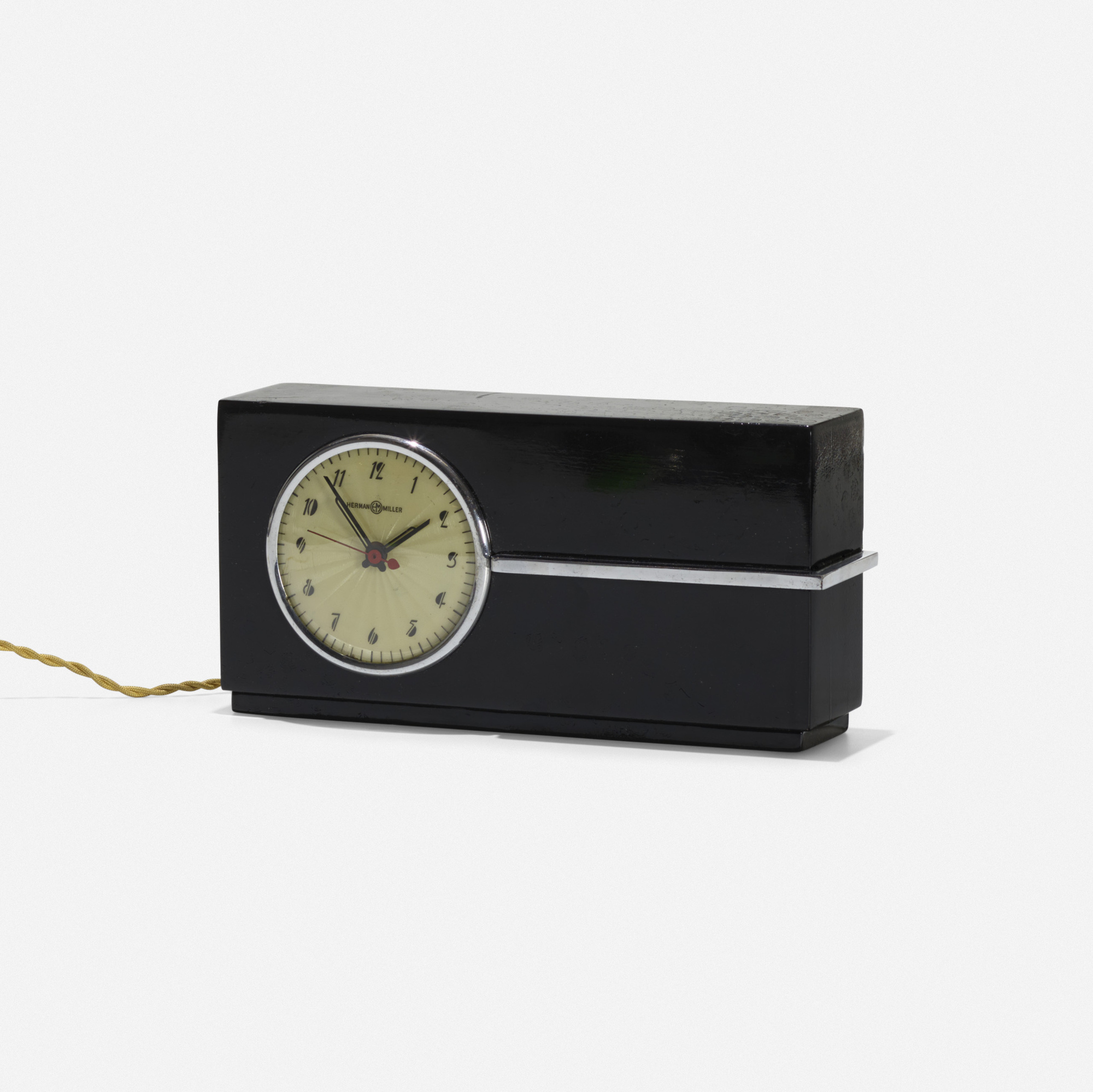 177: Gilbert Rohde / table clock (1 of 3)