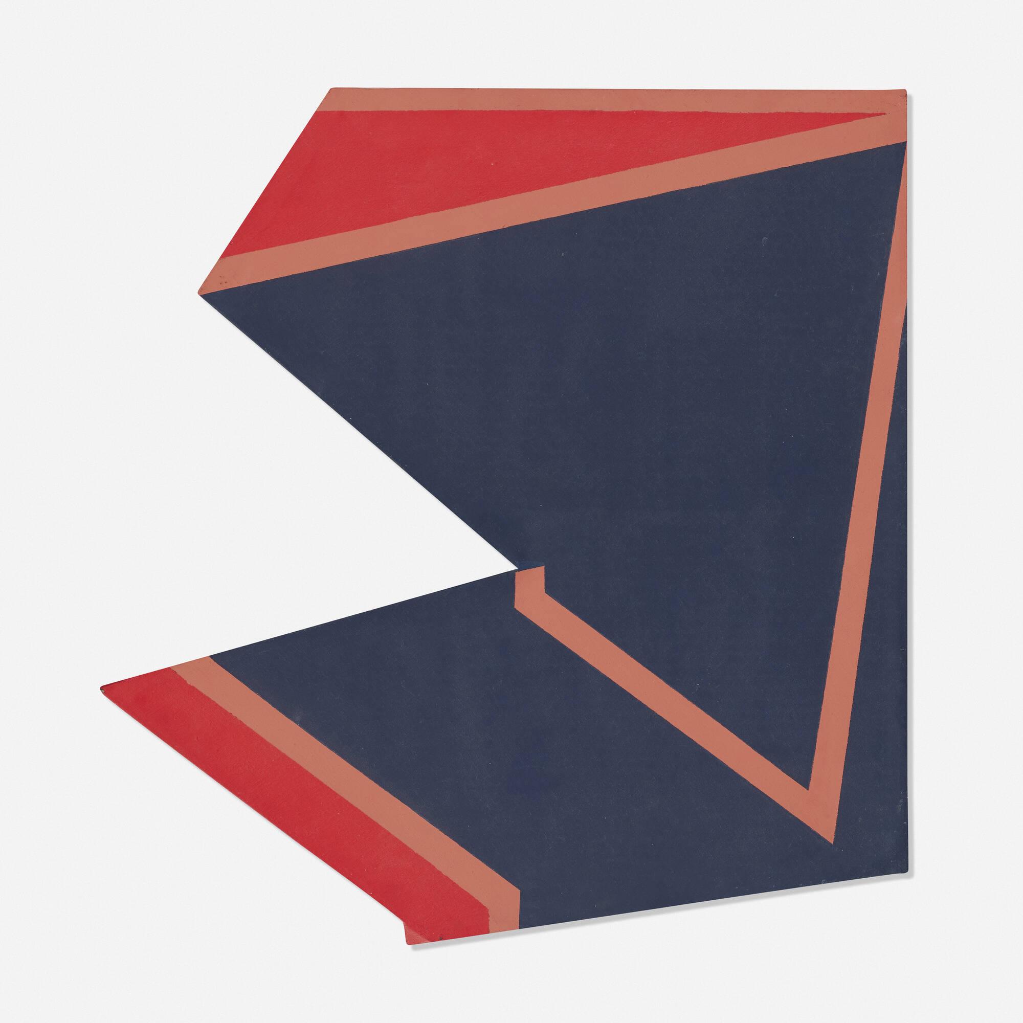177: Jake Berthot / Untitled (Irregular Geometry) (1 of 1)