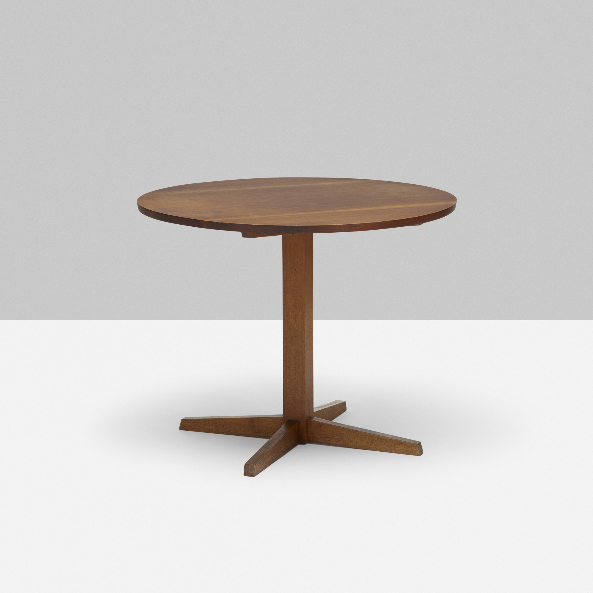 177: George Nakashima / Round Pedestal Table (1 Of 1)