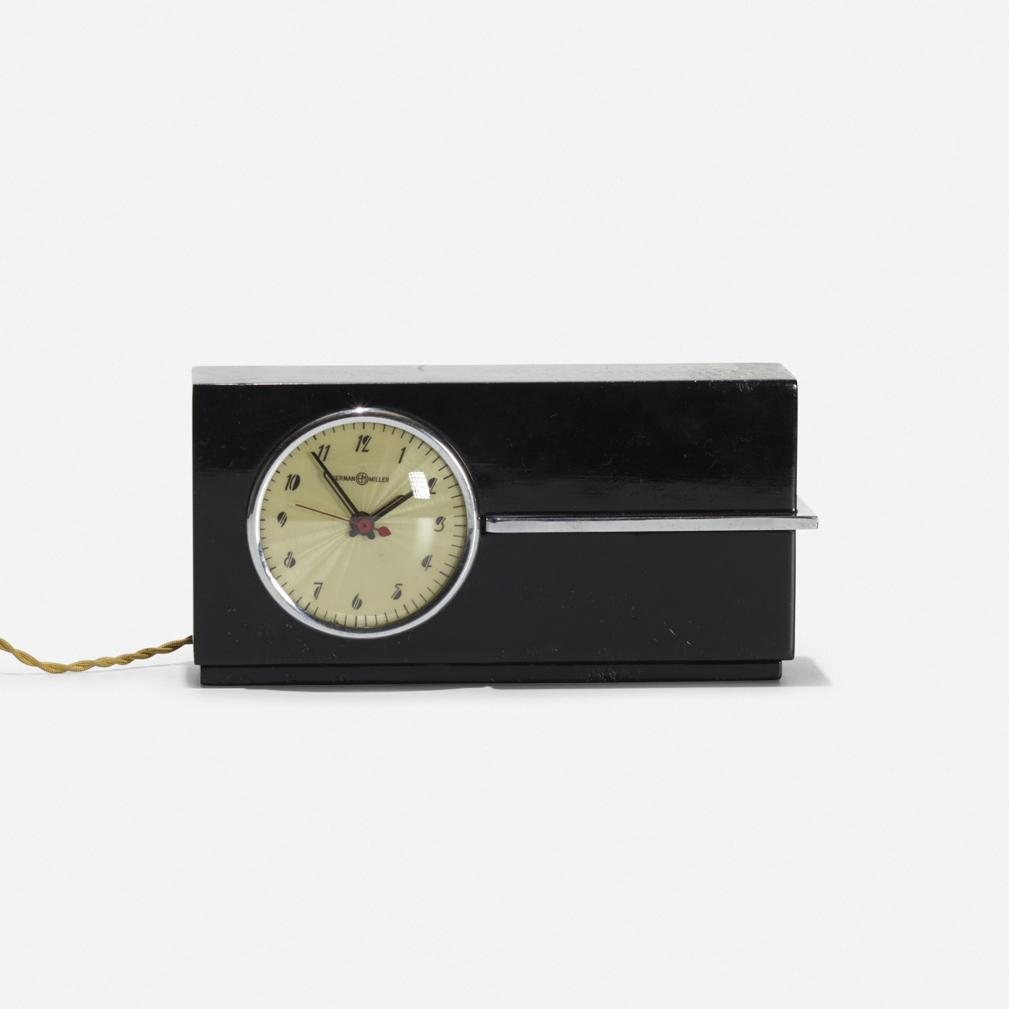 177: Gilbert Rohde / table clock (2 of 3)