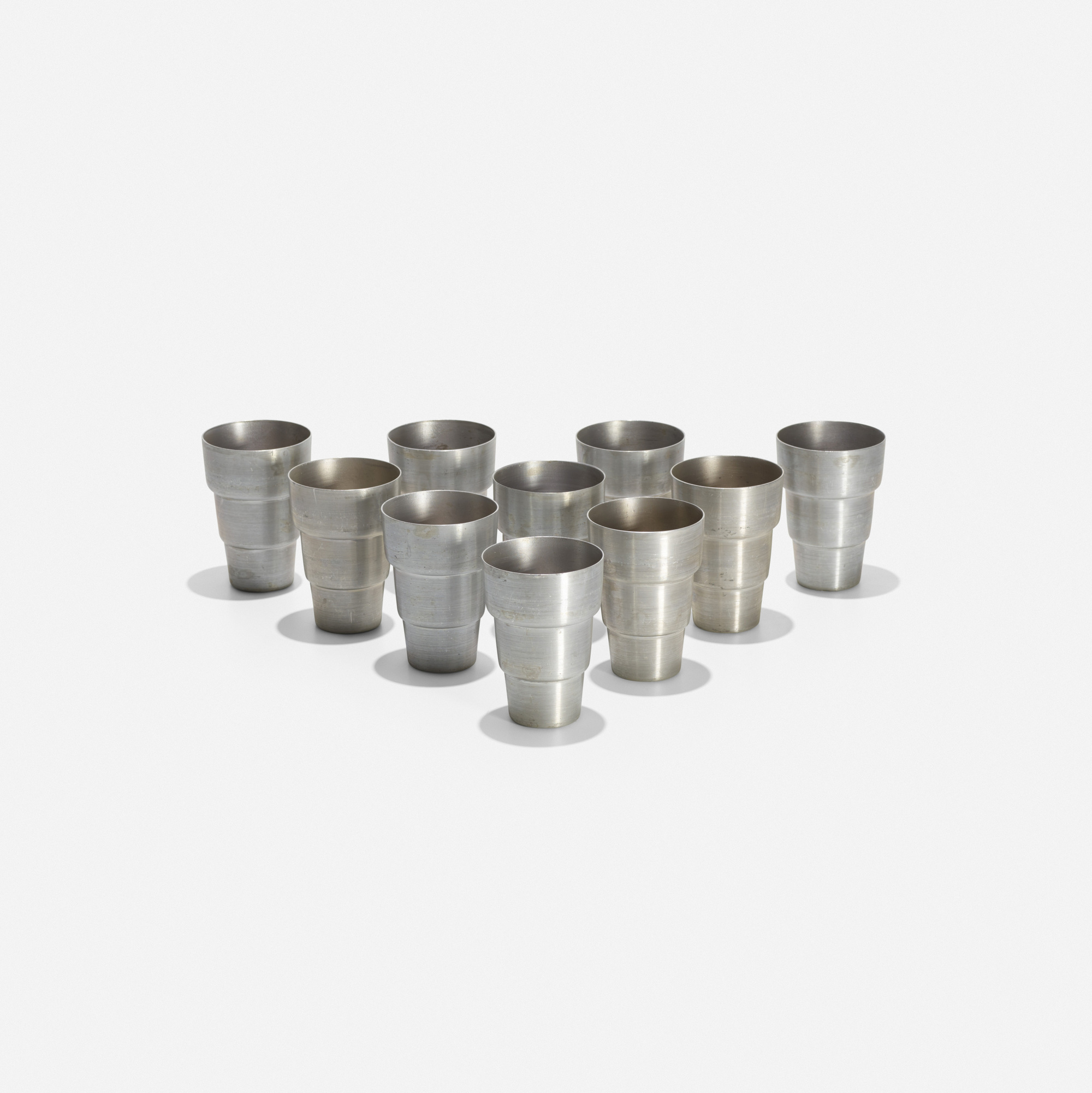 178: Russel Wright / cups, set of ten (1 of 2)