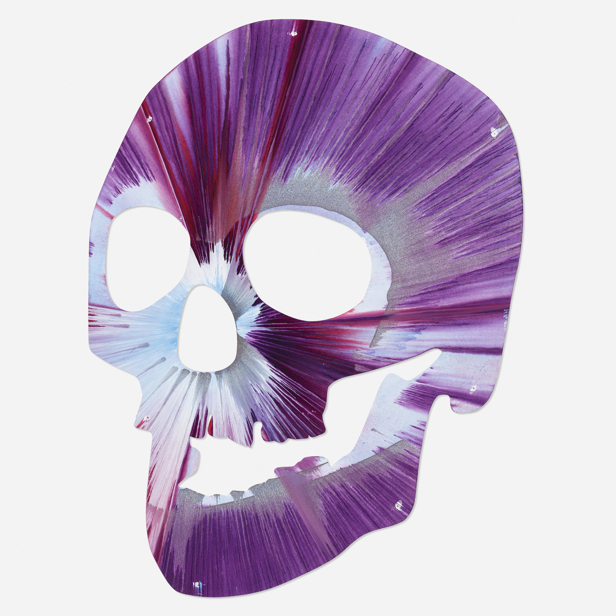 178 After Damien Hirst Skull Spin Painting Art Design 11 April 2019 Auctions Wright Auctions Of Art And Design
