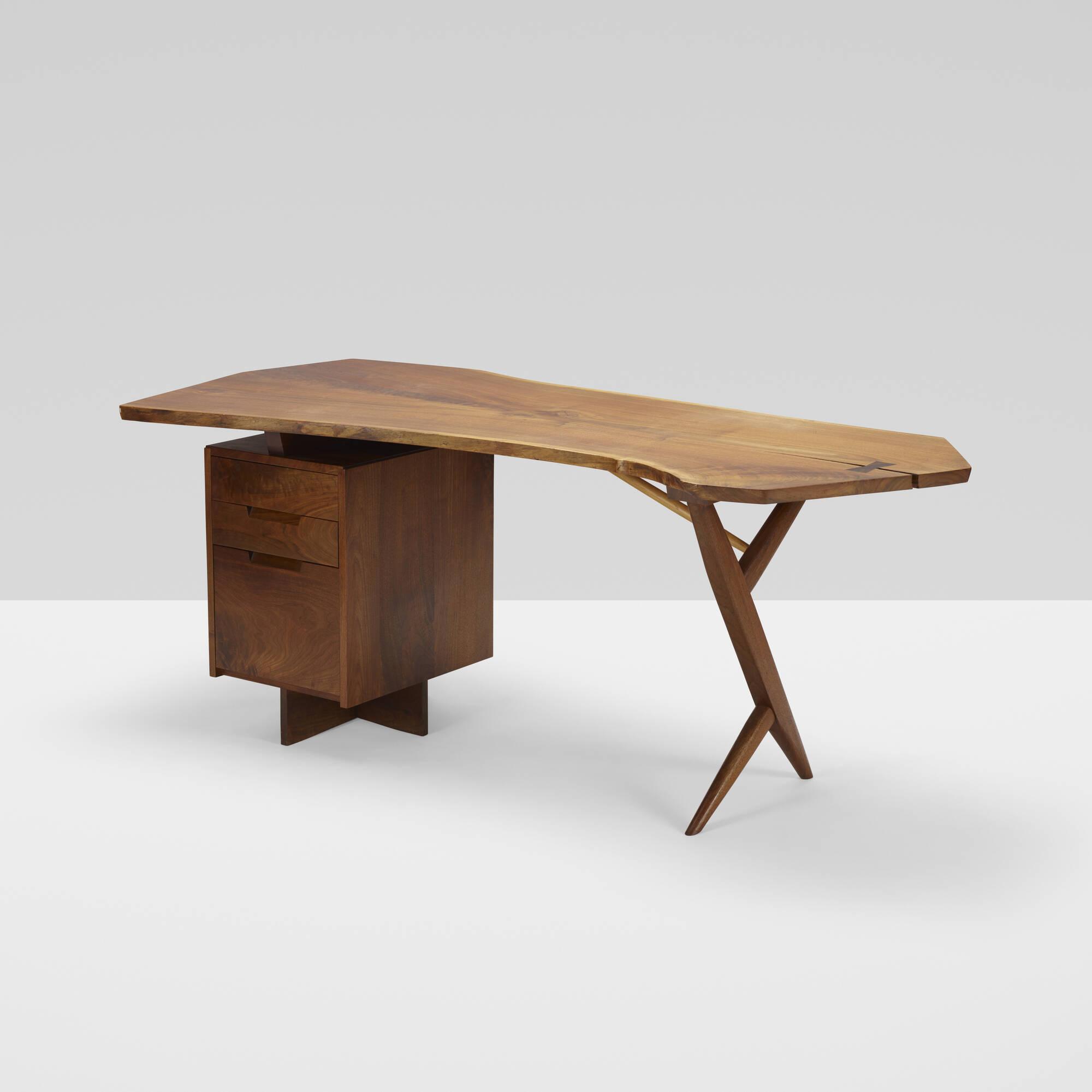 178: George Nakashima / Conoid desk (1 of 5)