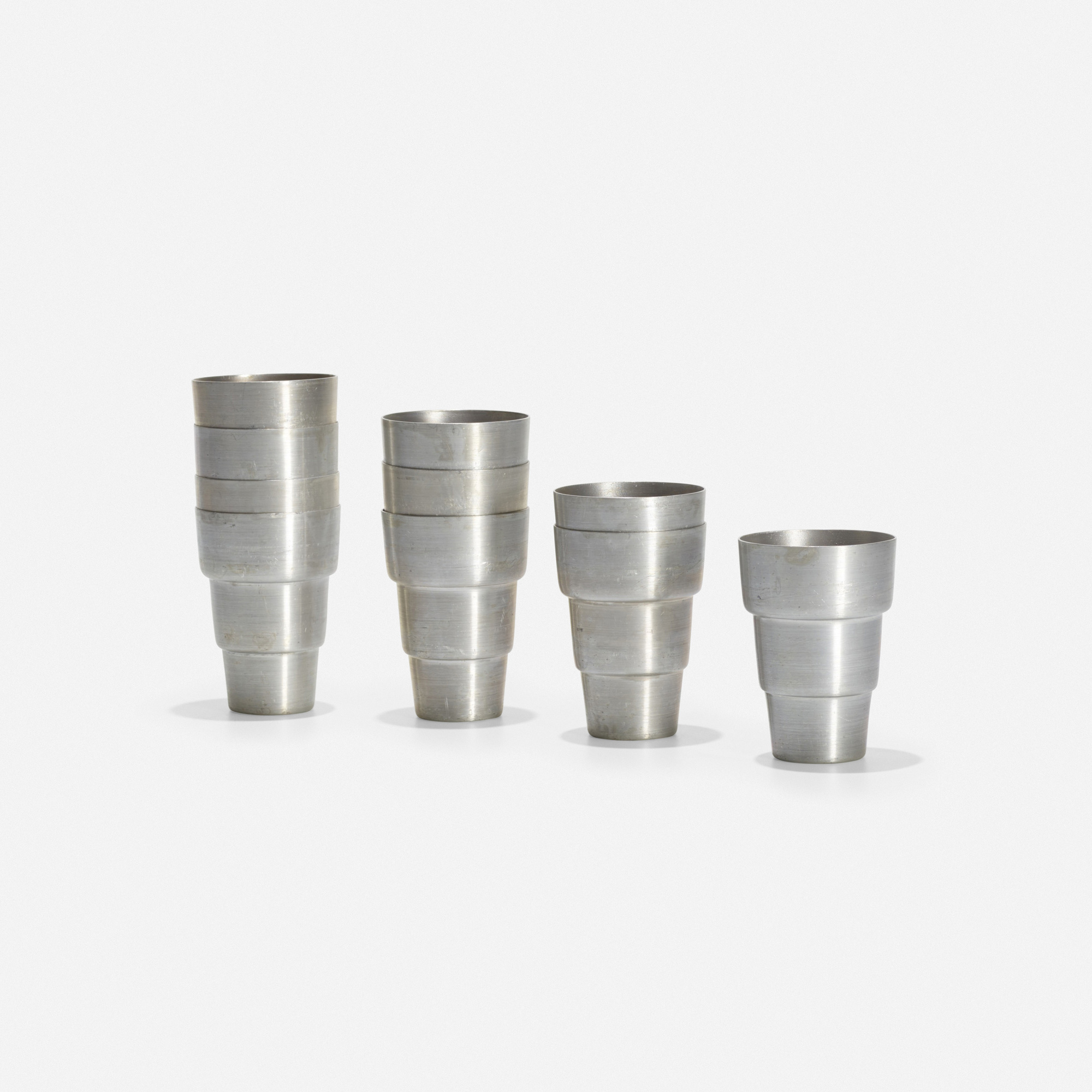 178: Russel Wright / cups, set of ten (2 of 2)