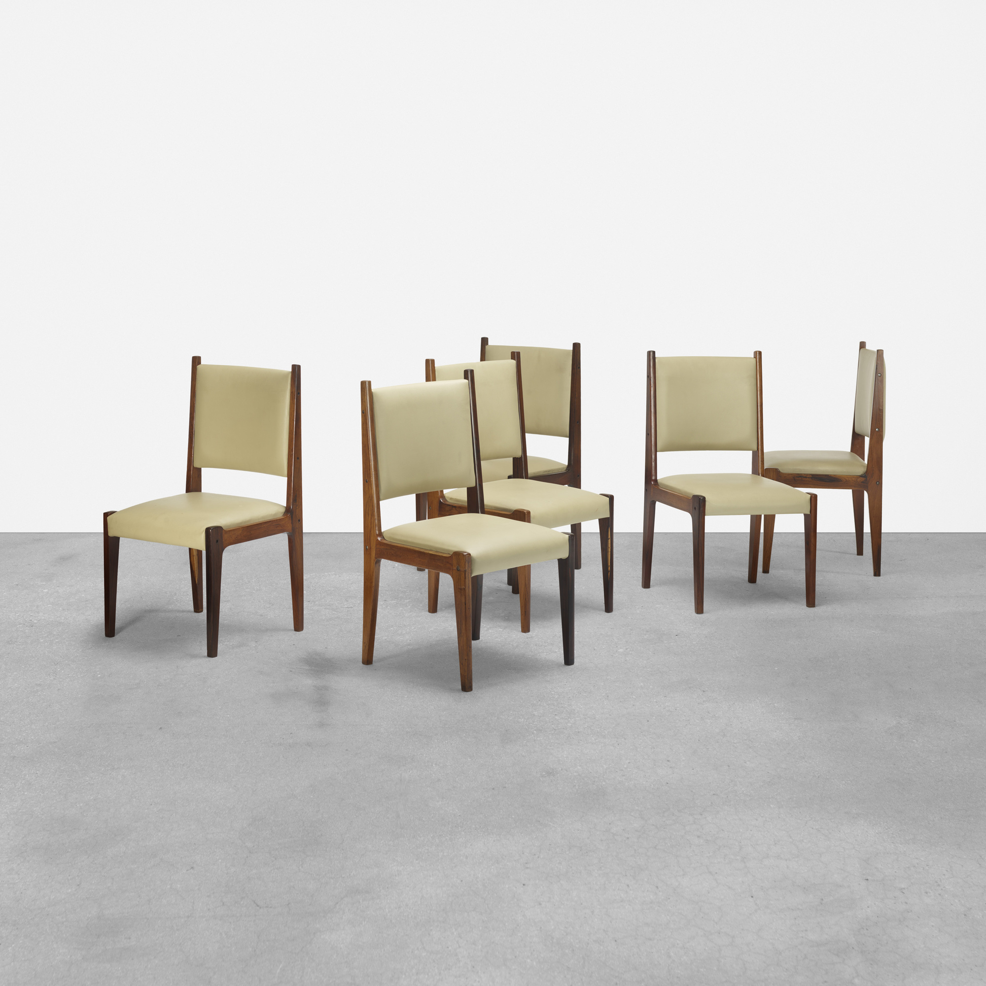 179: Sergio Rodrigues / dining chairs, set of six (1 of 2)