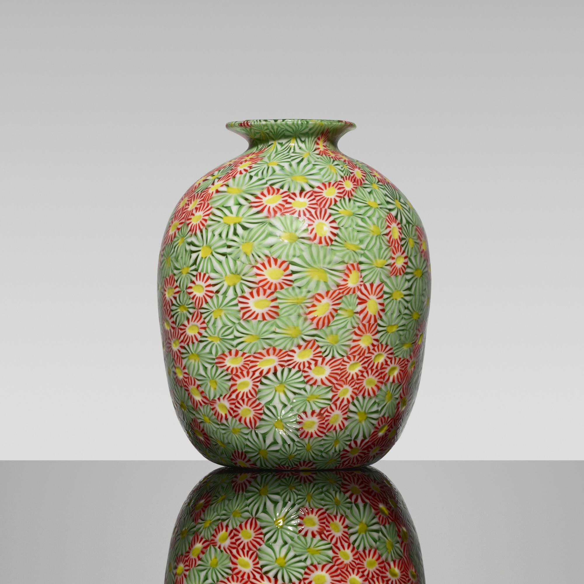 179: Fratelli Toso / Kiku vase (1 of 1)