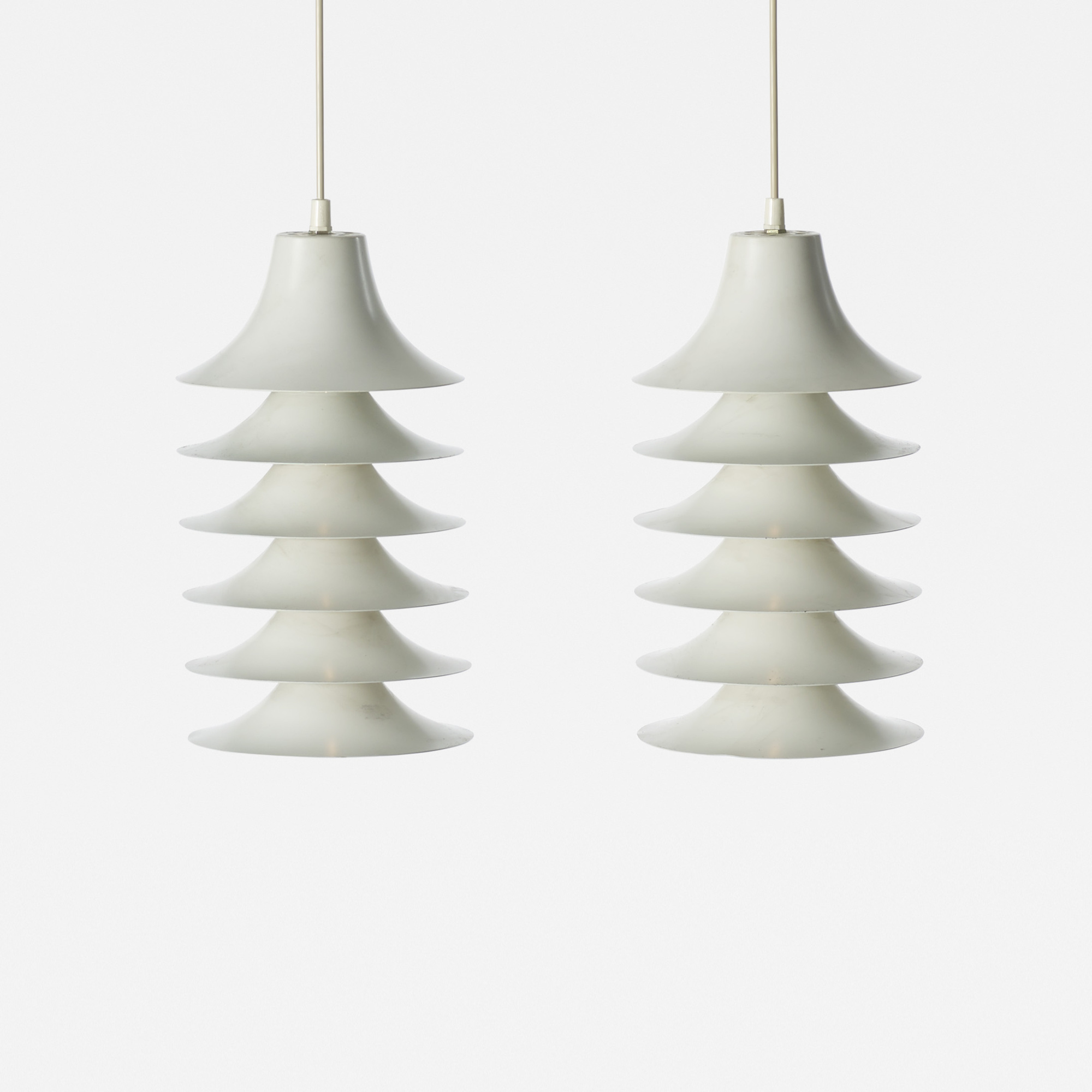179: Jørgen Gammelgaard / Tip-Top pendant lamps, pair (1 of 1)