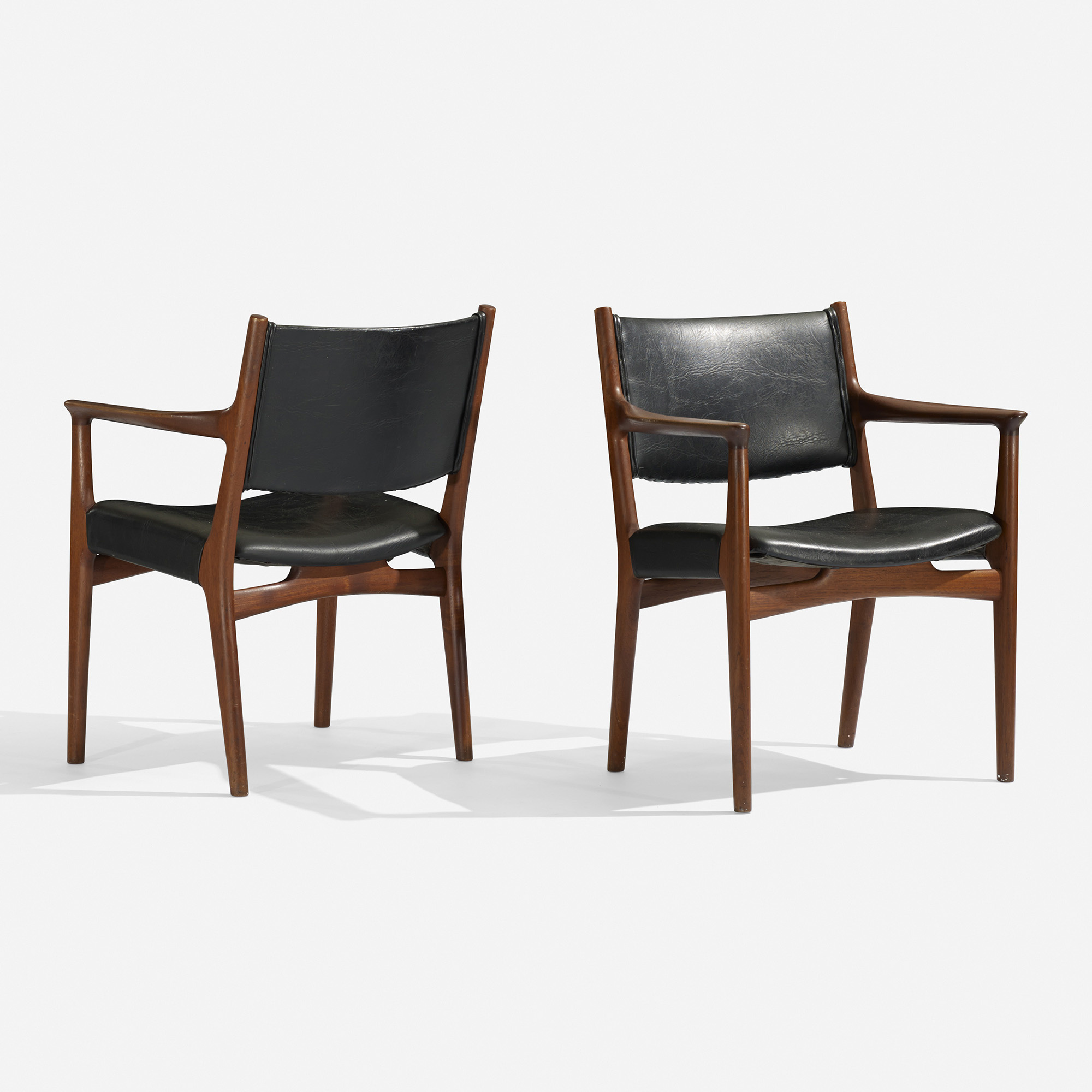179 Hans J Wegner dining chairs model JH 525 set of six