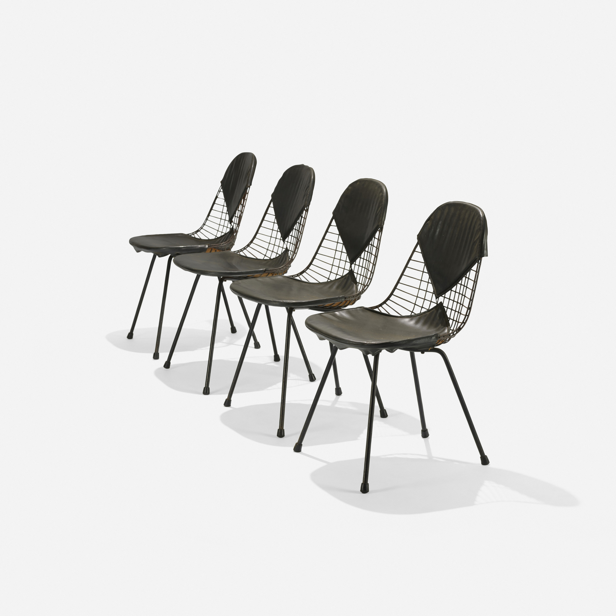 180: Charles and Ray Eames / early DKRs, set of four (1 of 4)