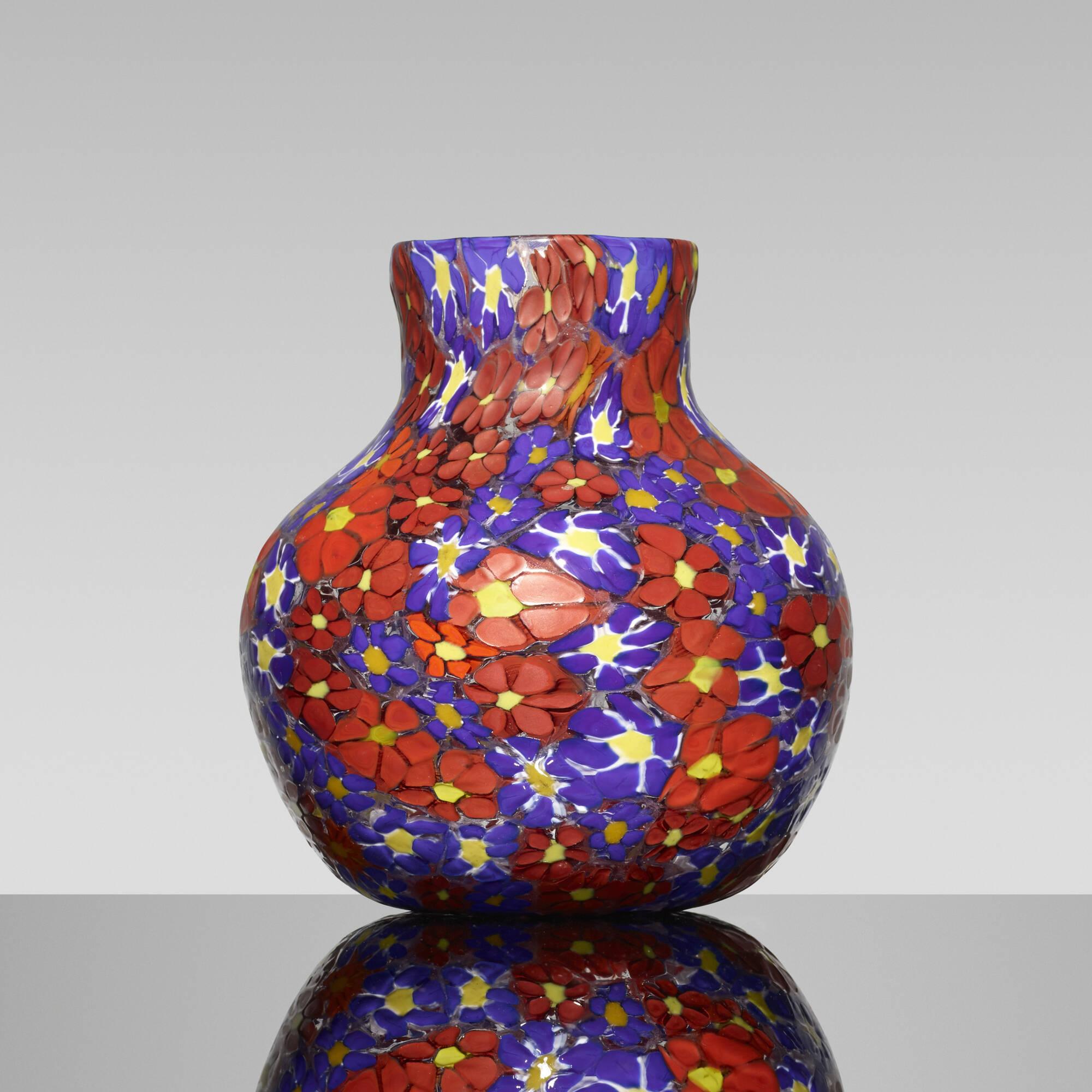 180: Fratelli Toso / Kiku vase (1 of 2)