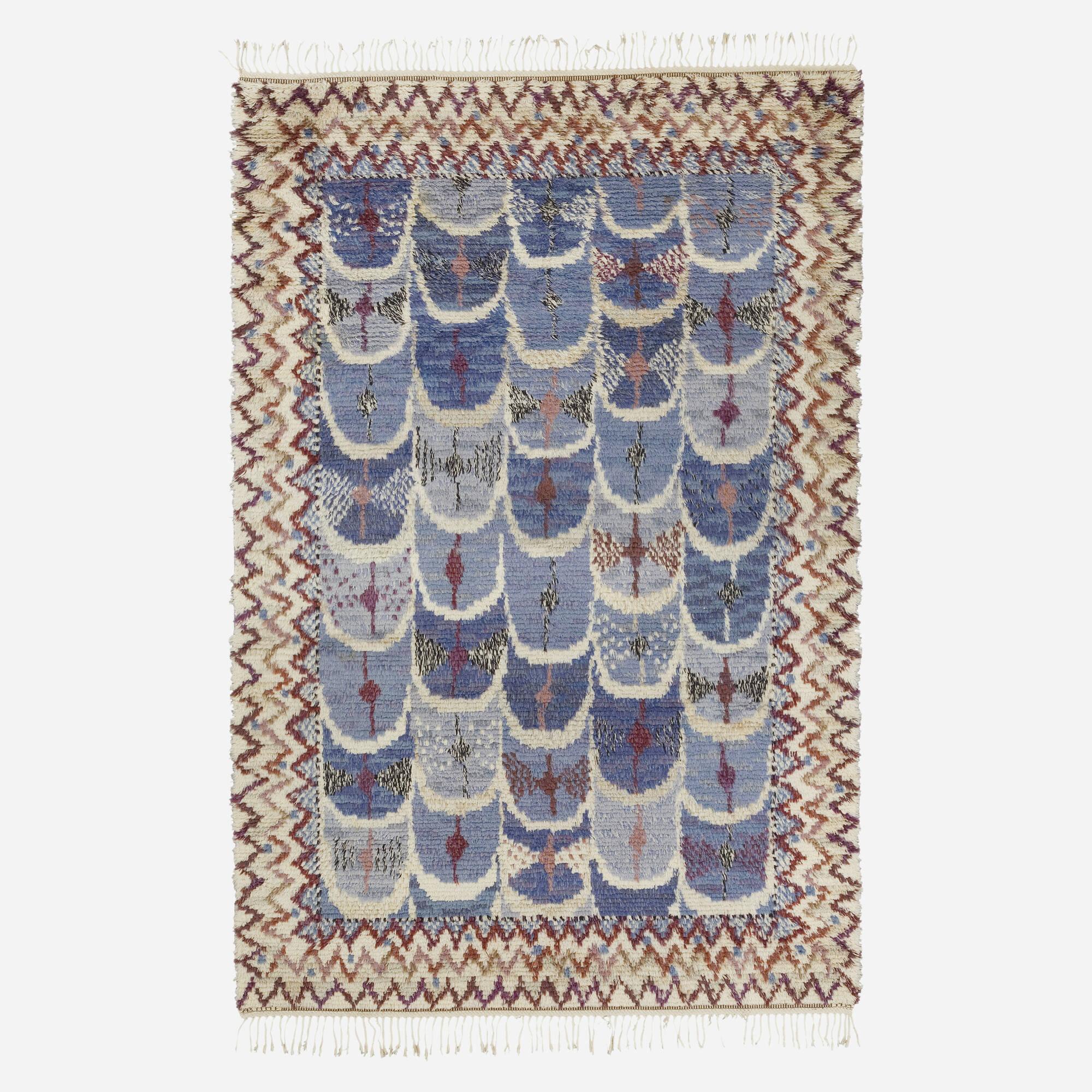 180: Marianne Richter / Fjädern rya carpet (1 of 1)