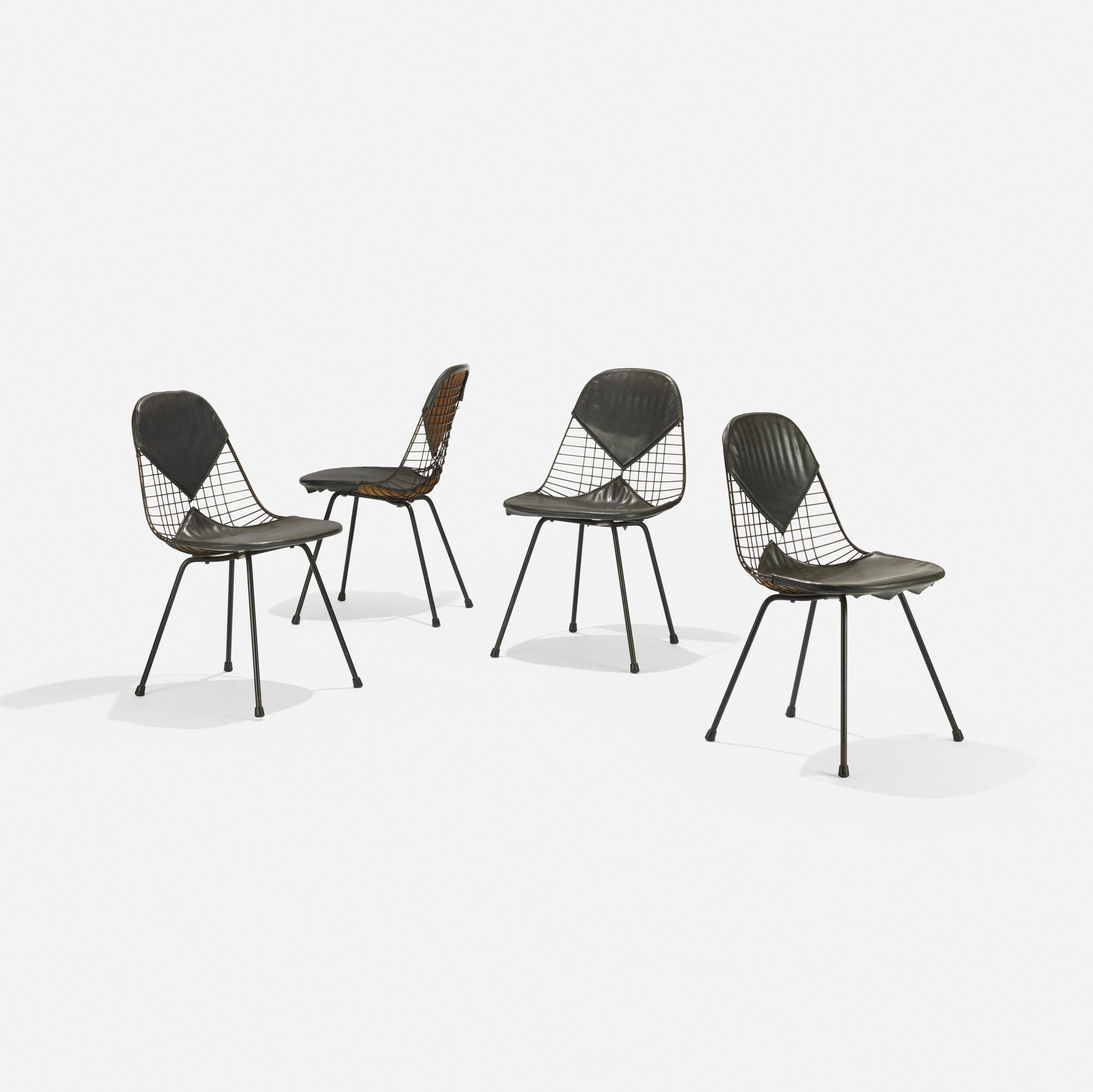 180: Charles and Ray Eames / early DKRs, set of four (2 of 4)