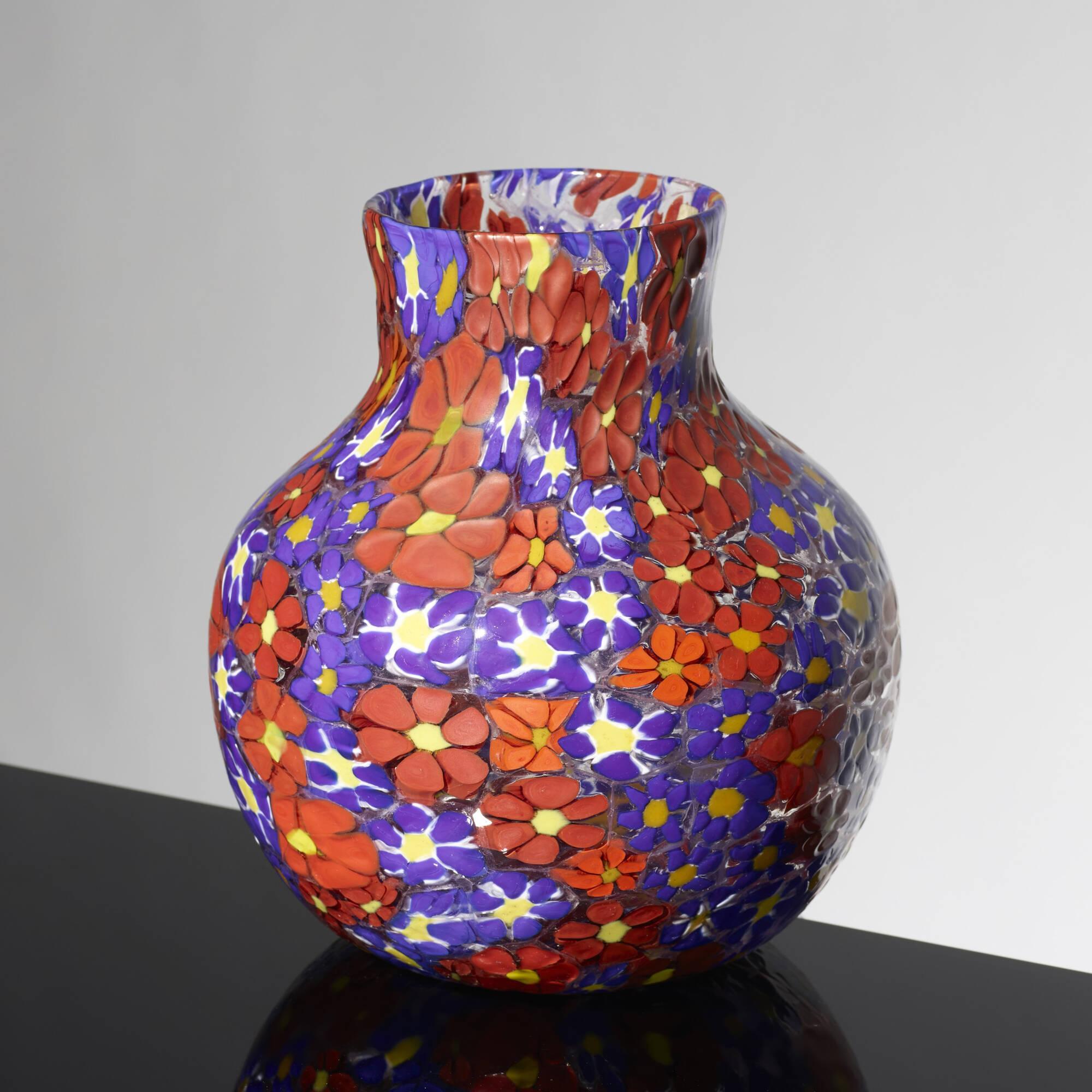 180: Fratelli Toso / Kiku vase (2 of 2)