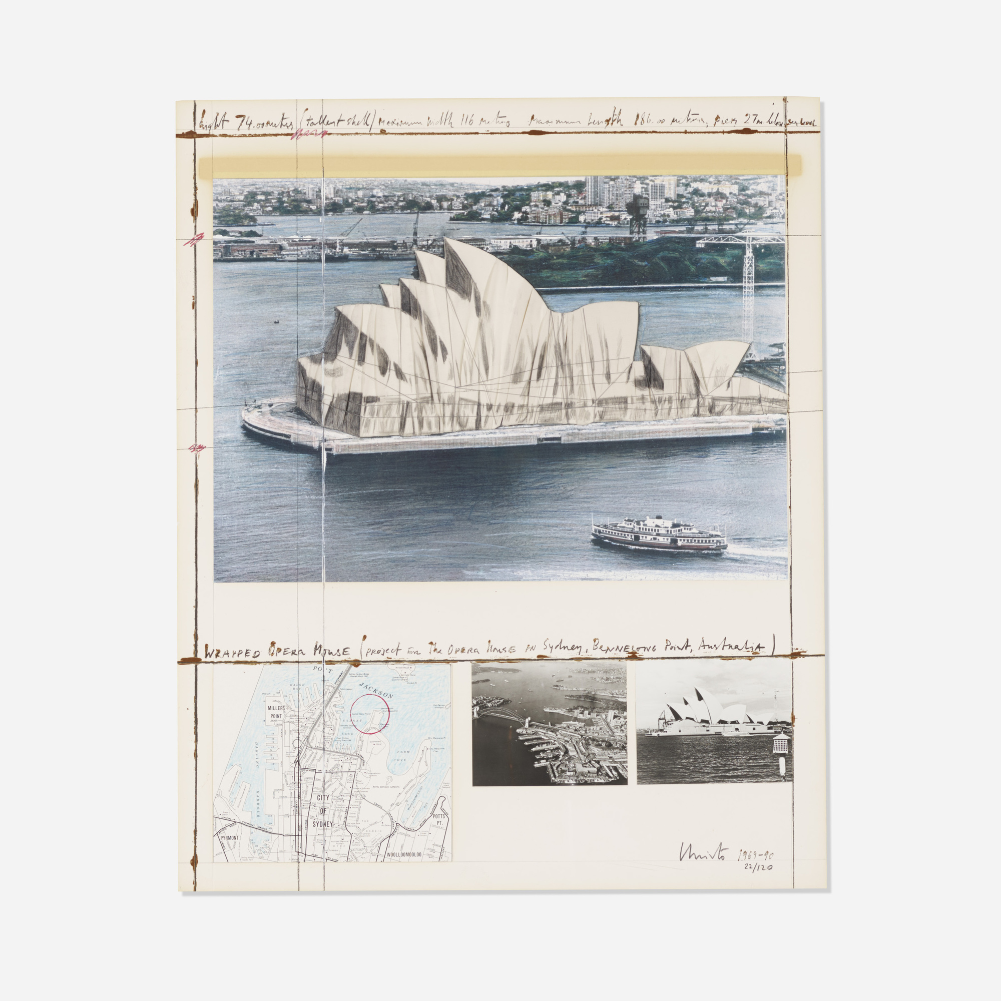 181: Christo / Wrapped Opera House, Project for Sydney (1 of 1)