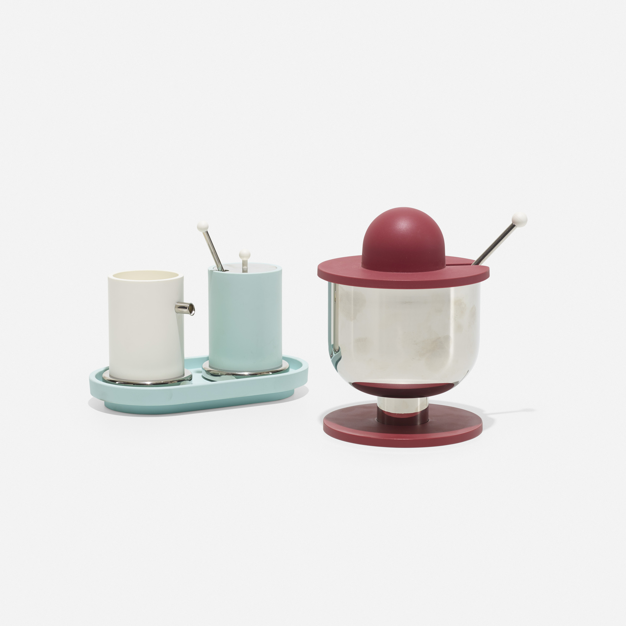 181: Ettore Sottsass / cream and sugar service (1 of 1)