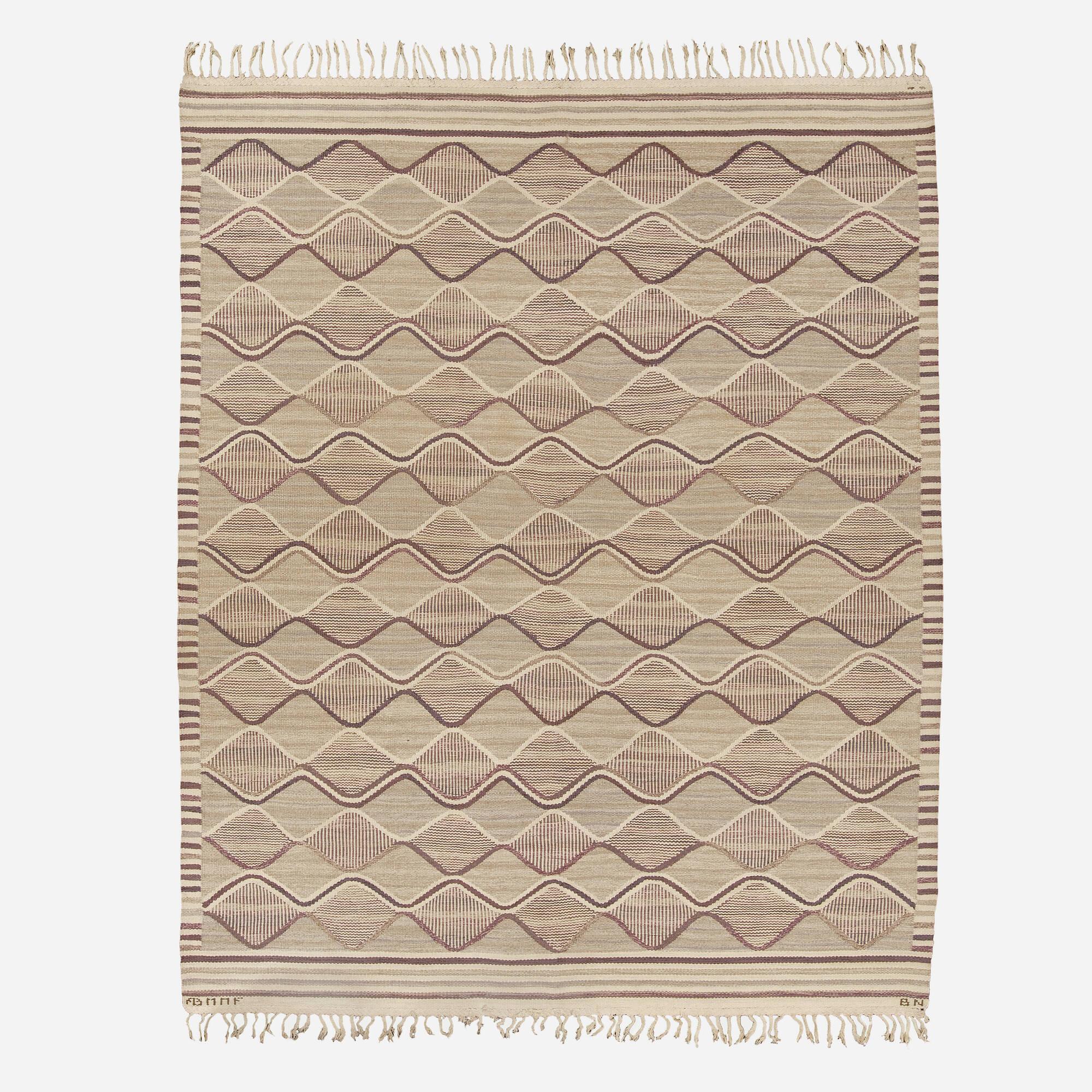 181: Barbro Nilsson / Spättan tapestry weave carpet (1 of 1)