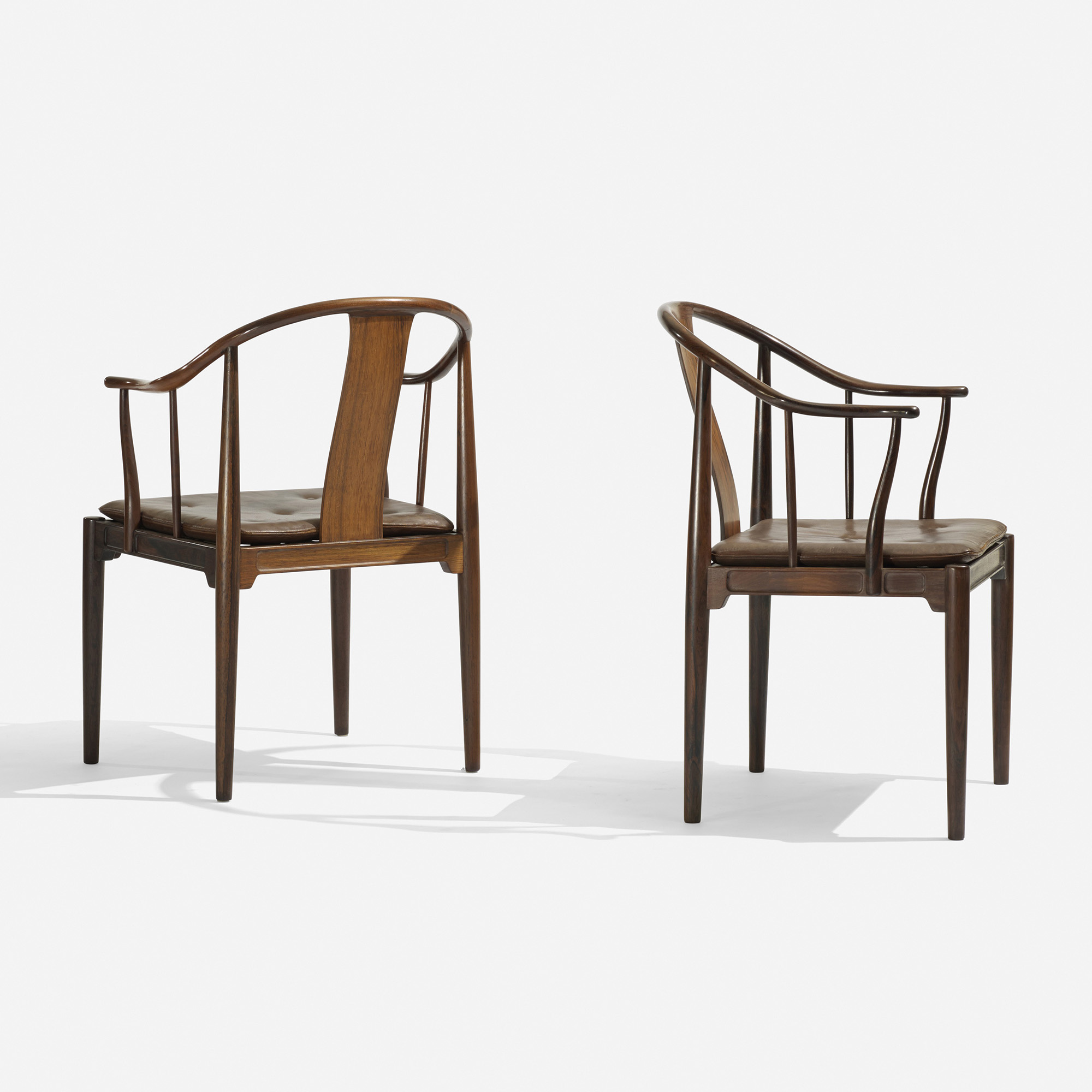 ... 181: Hans J. Wegner / Chinese Chairs, Pair (2 Of 6)