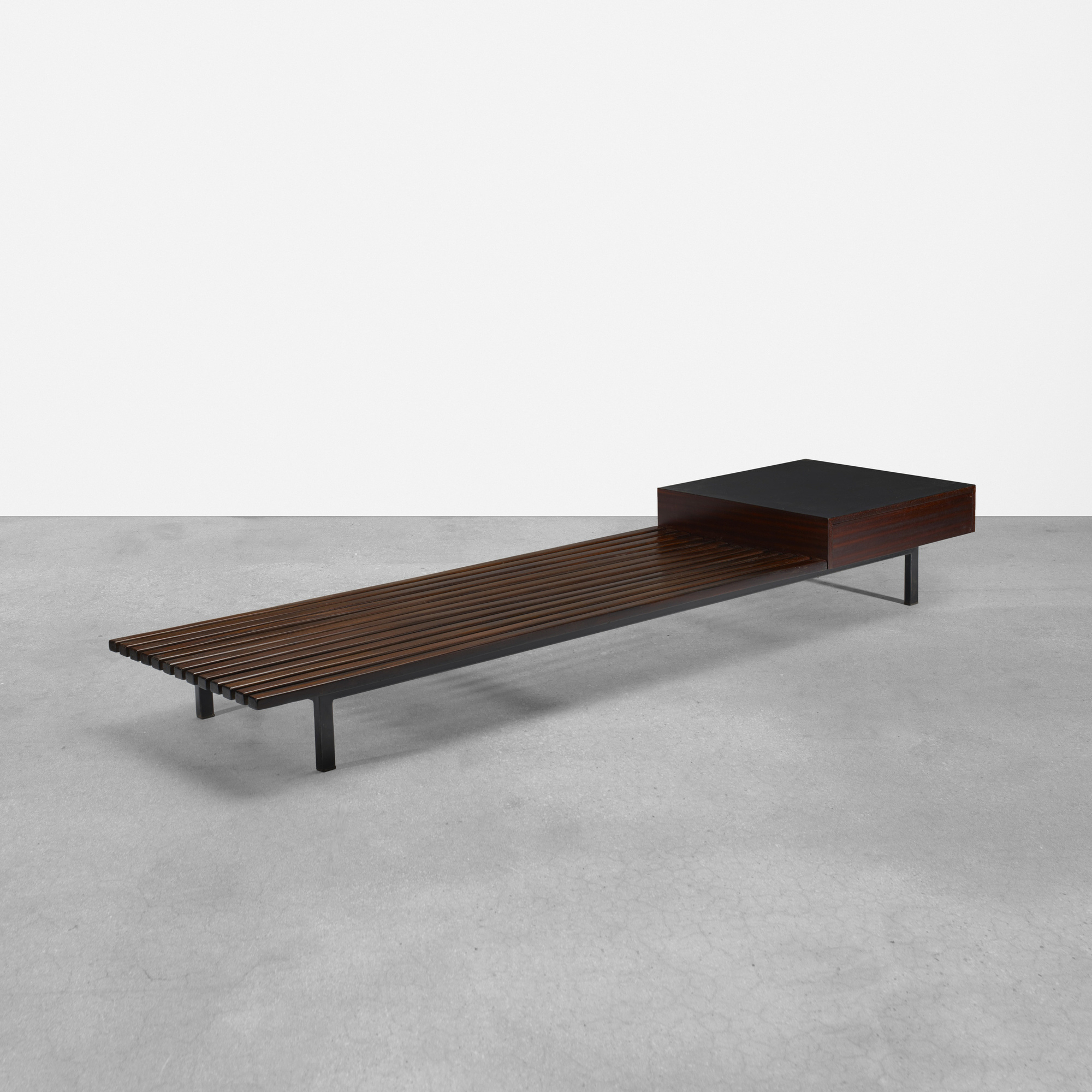 182: Charlotte Perriand / bench from Cité Cansado, Mauritania (1 of 2)