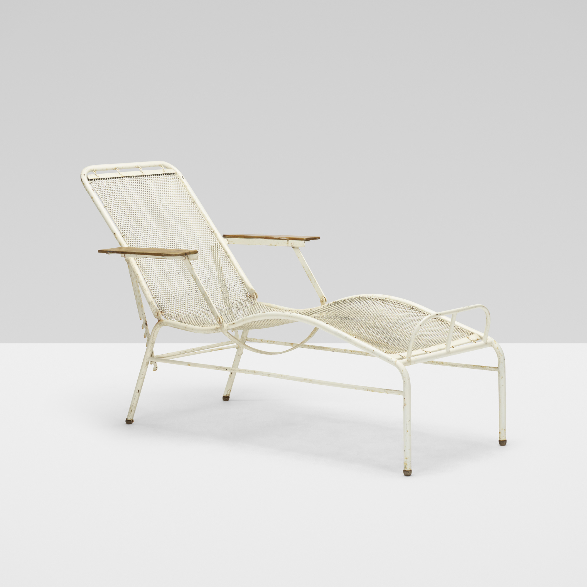 182 jean prouv and jules leleu chaise lounge from the martel de janville sanatorium plateau - Chaise de jean prouve ...