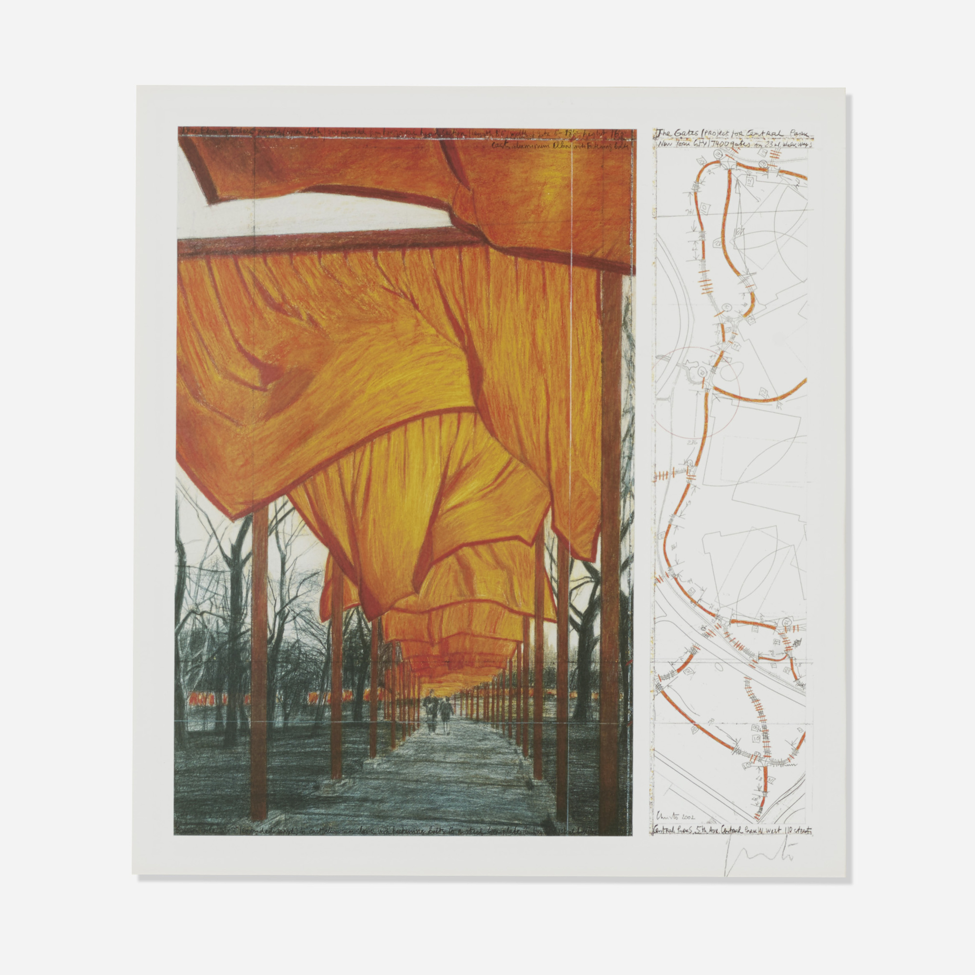 182: Christo / Project for the Gates IV (1 of 1)