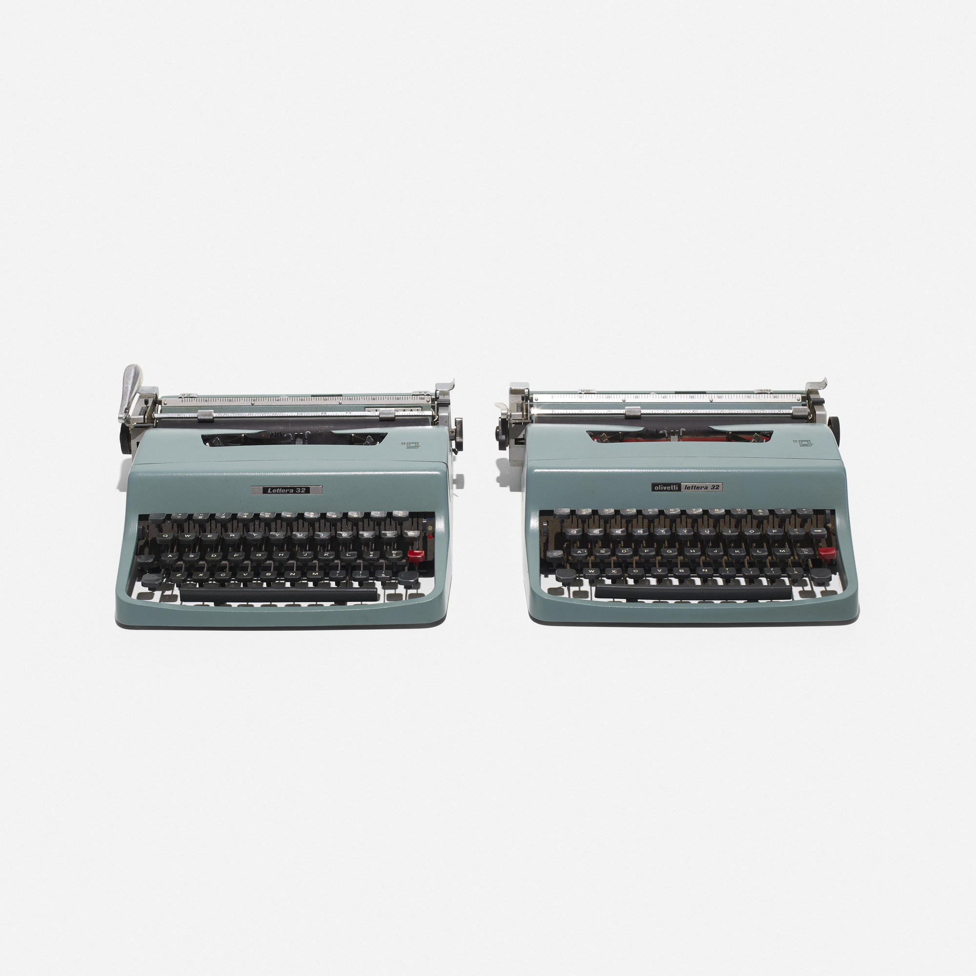 182: Marcello Nizzoli / Lettera 32 typewriters, pair (1 of 2)