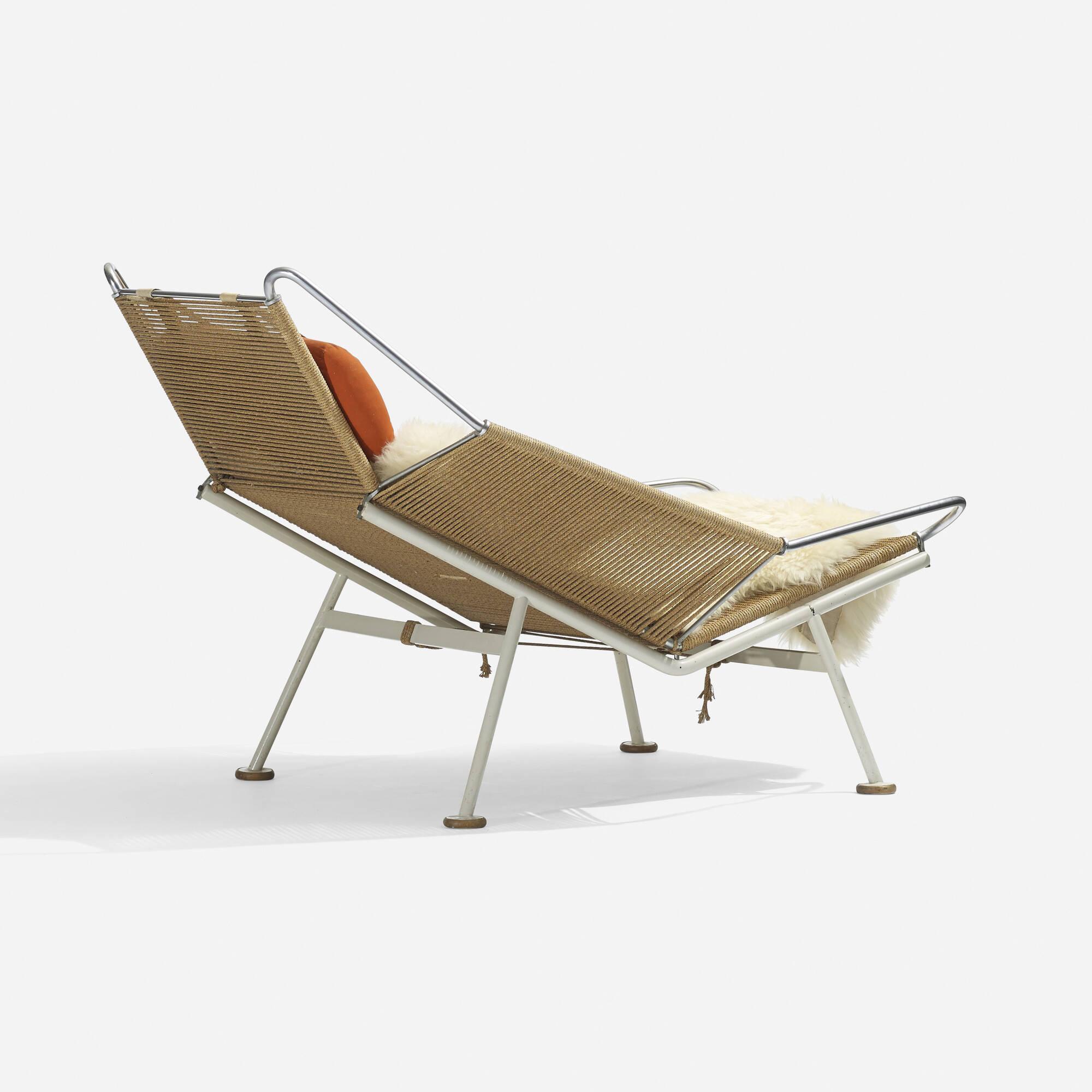 182 Hans J Wegner Flag Halyard lounge chair