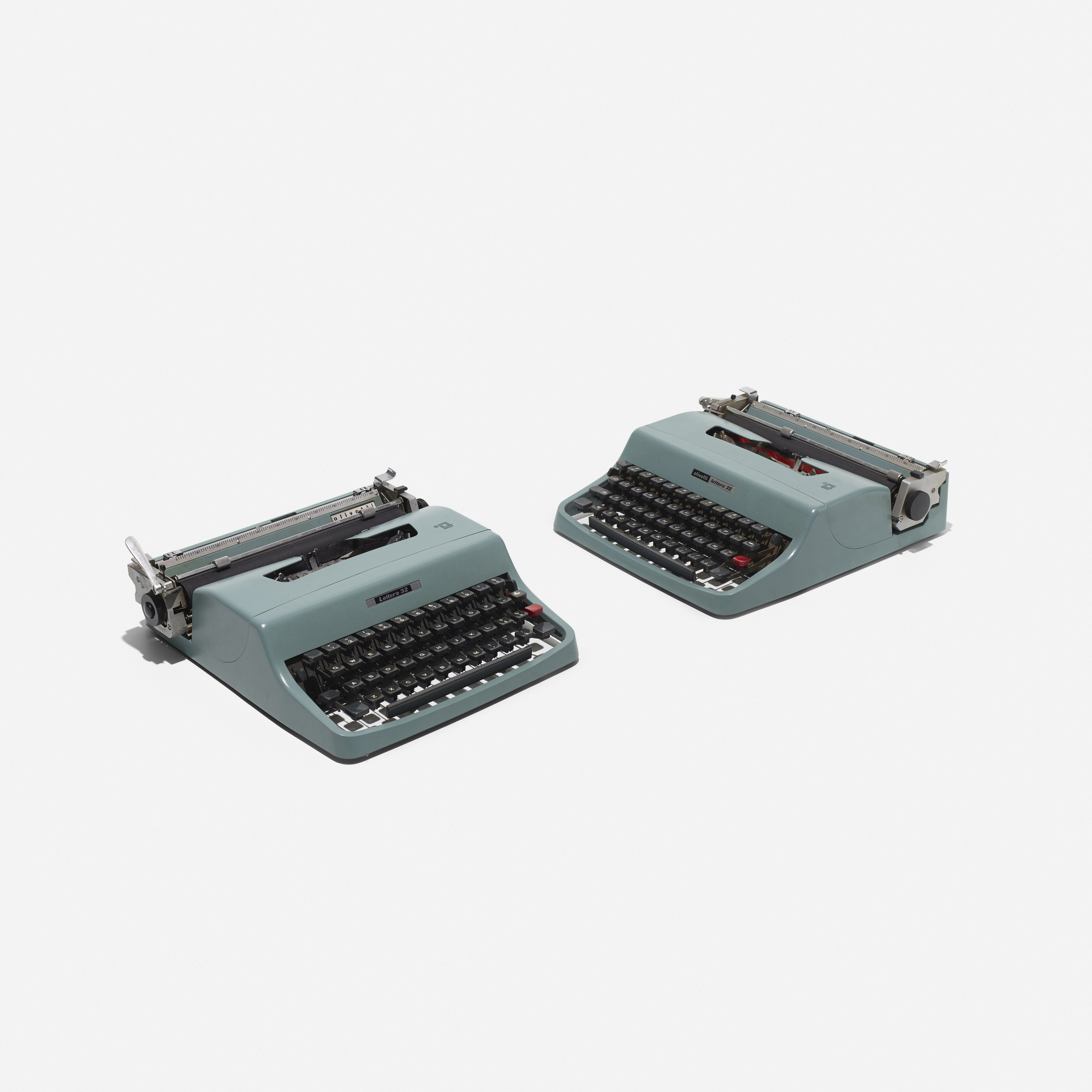 182: Marcello Nizzoli / Lettera 32 typewriters, pair (2 of 2)