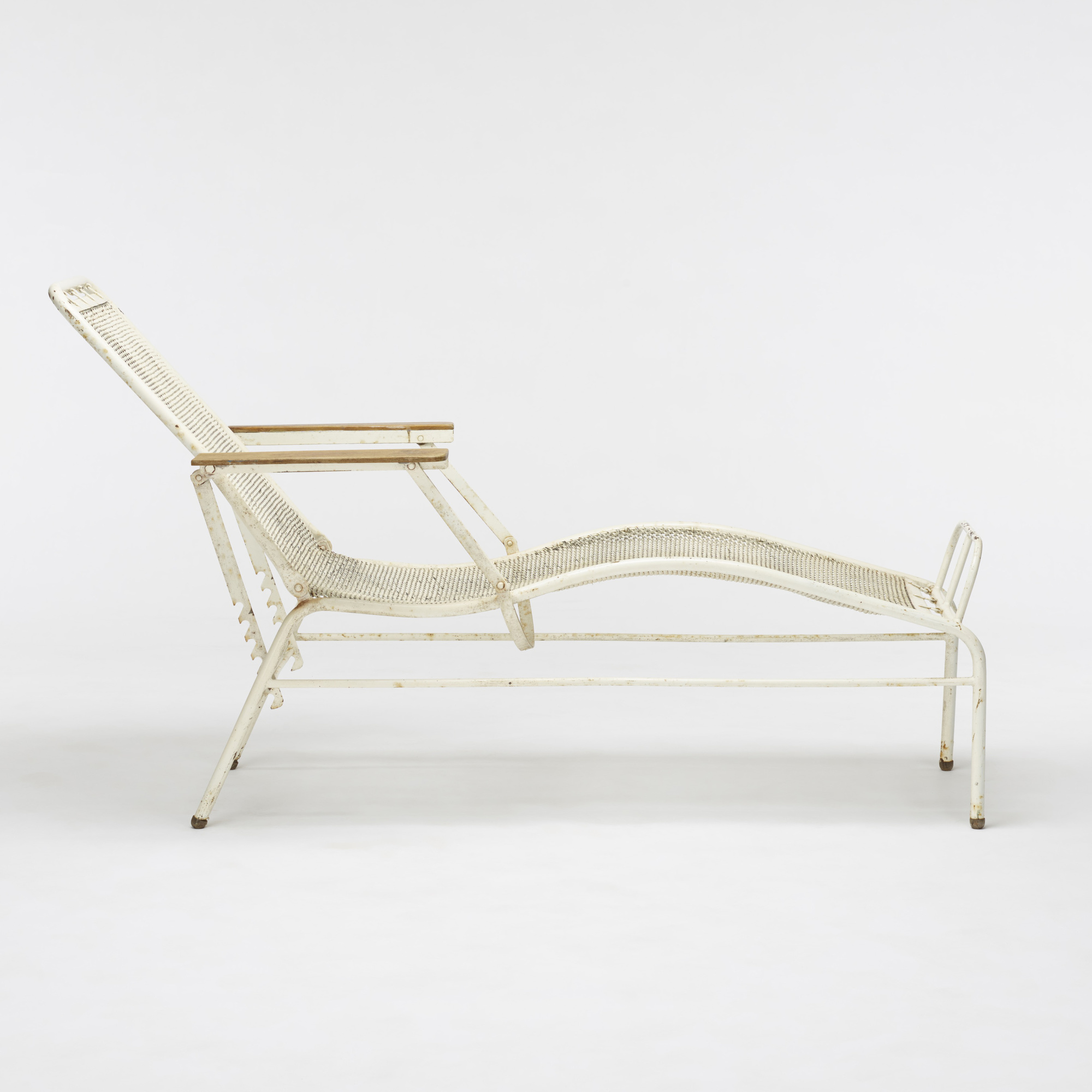 182 Jean Prouv And Jules Leleu Chaise Lounge From The Martel De Janville Sanatorium