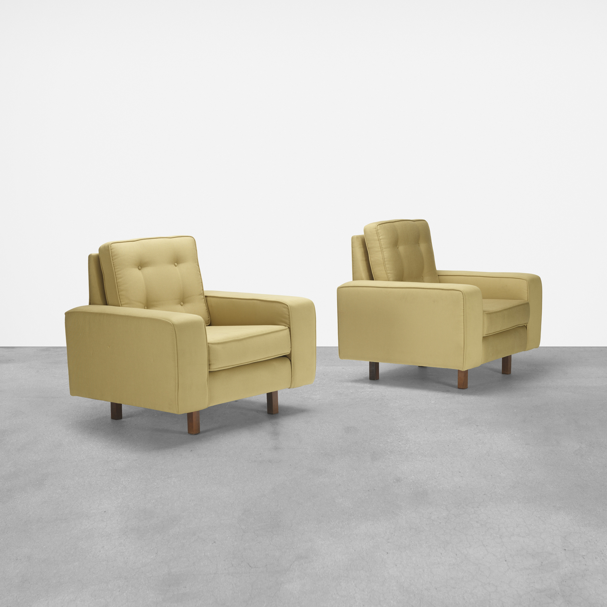 183: Joaquim Tenreiro / lounge chairs, pair (1 of 3)