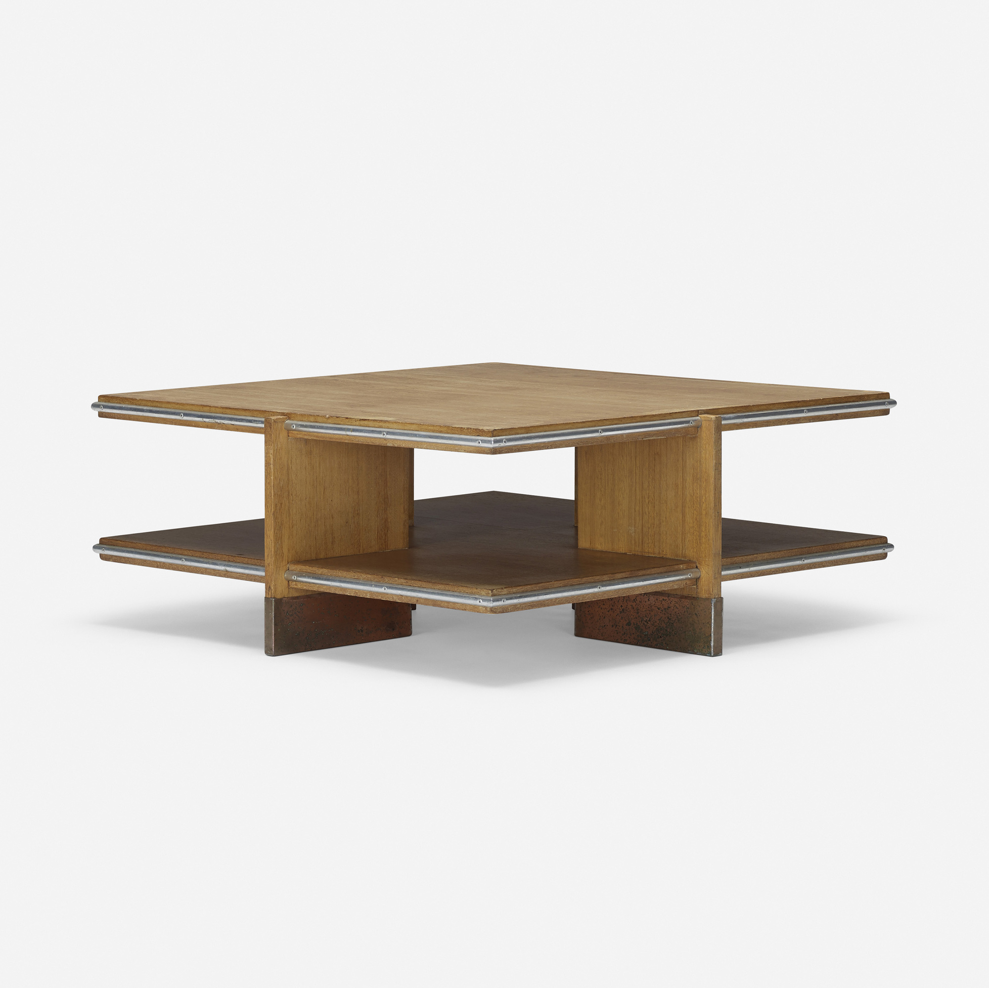 183: Frank Lloyd Wright / Coffee Table From Price Tower, Bartlesville,  Oklahoma (