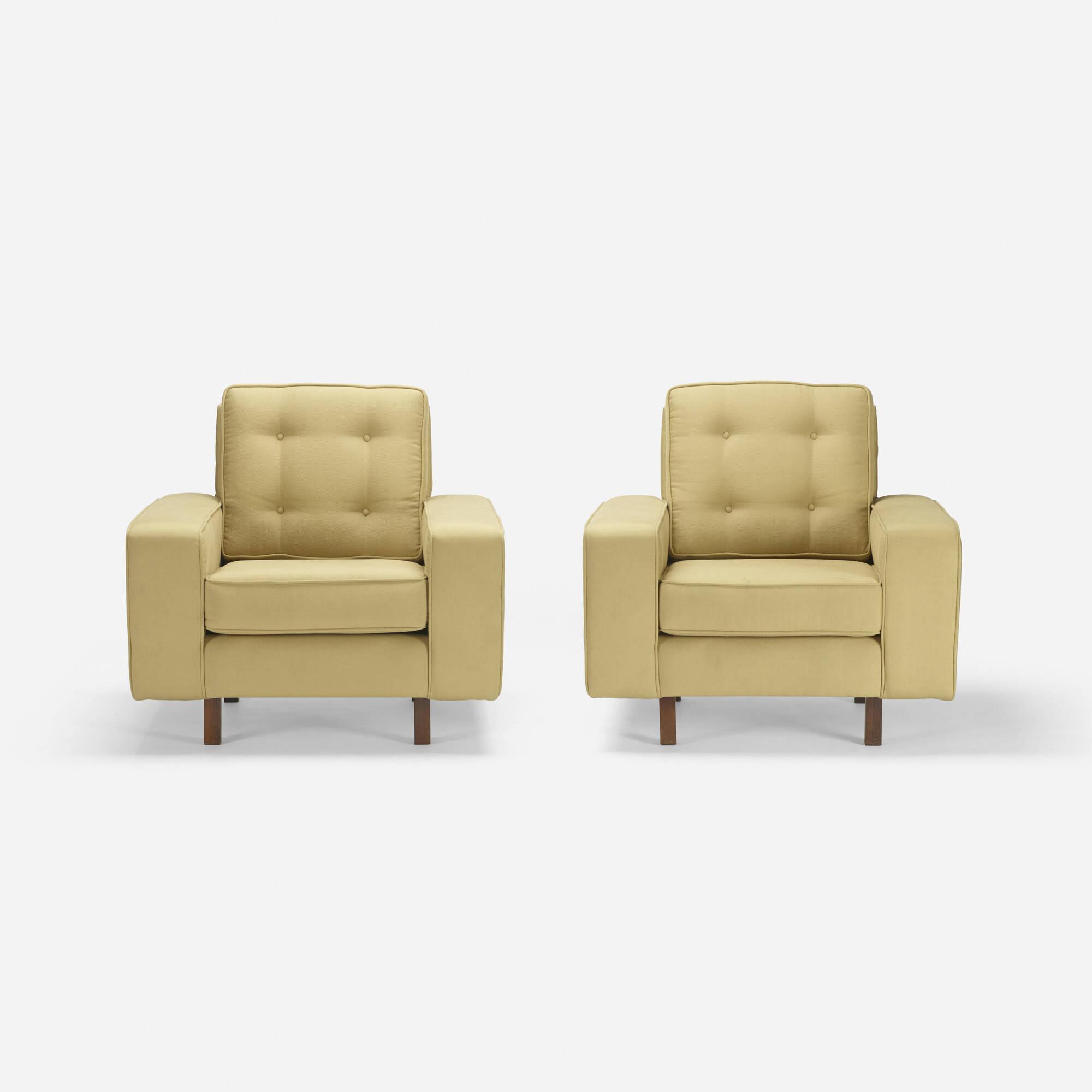183: Joaquim Tenreiro / lounge chairs, pair (2 of 3)