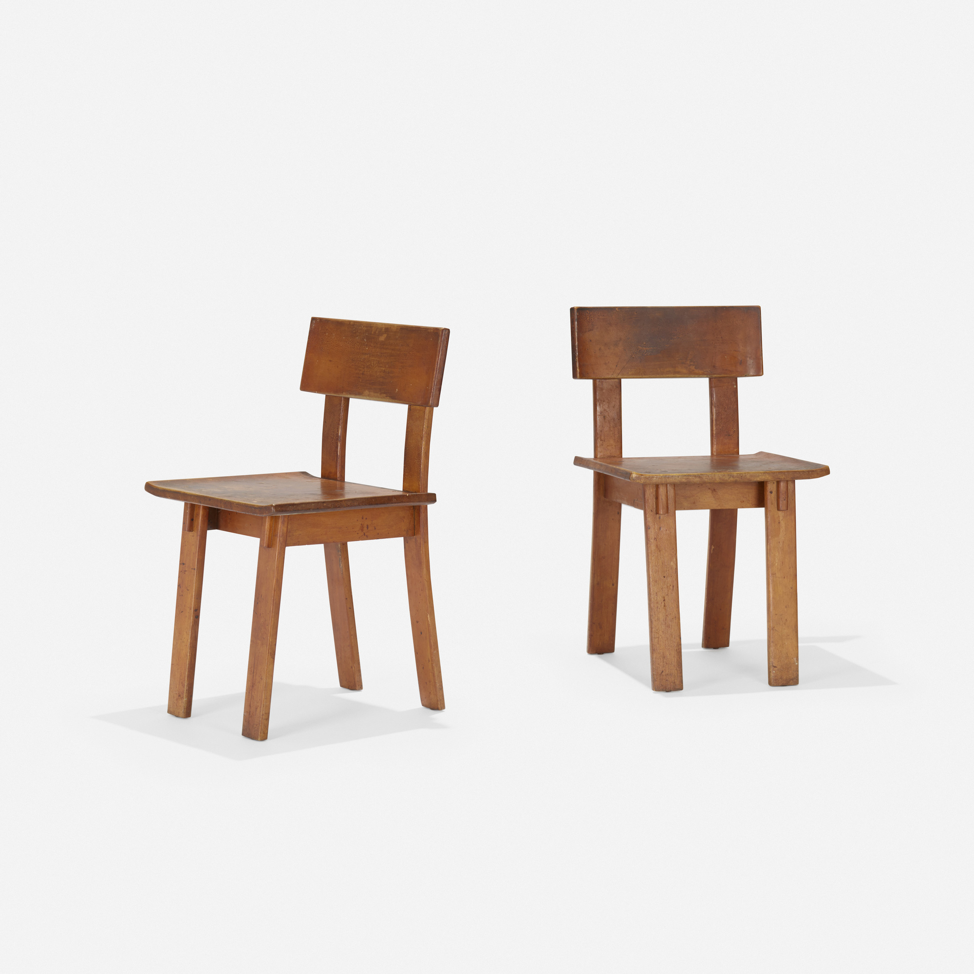 184: Russel Wright / Chairs, Pair (1 Of 4)