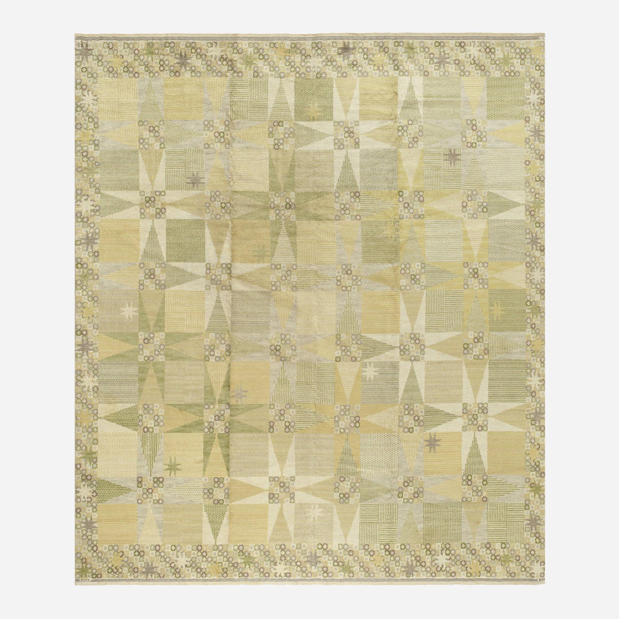 184: Barbro Nilsson / Stjärnflossan pile carpet (1 of 2)