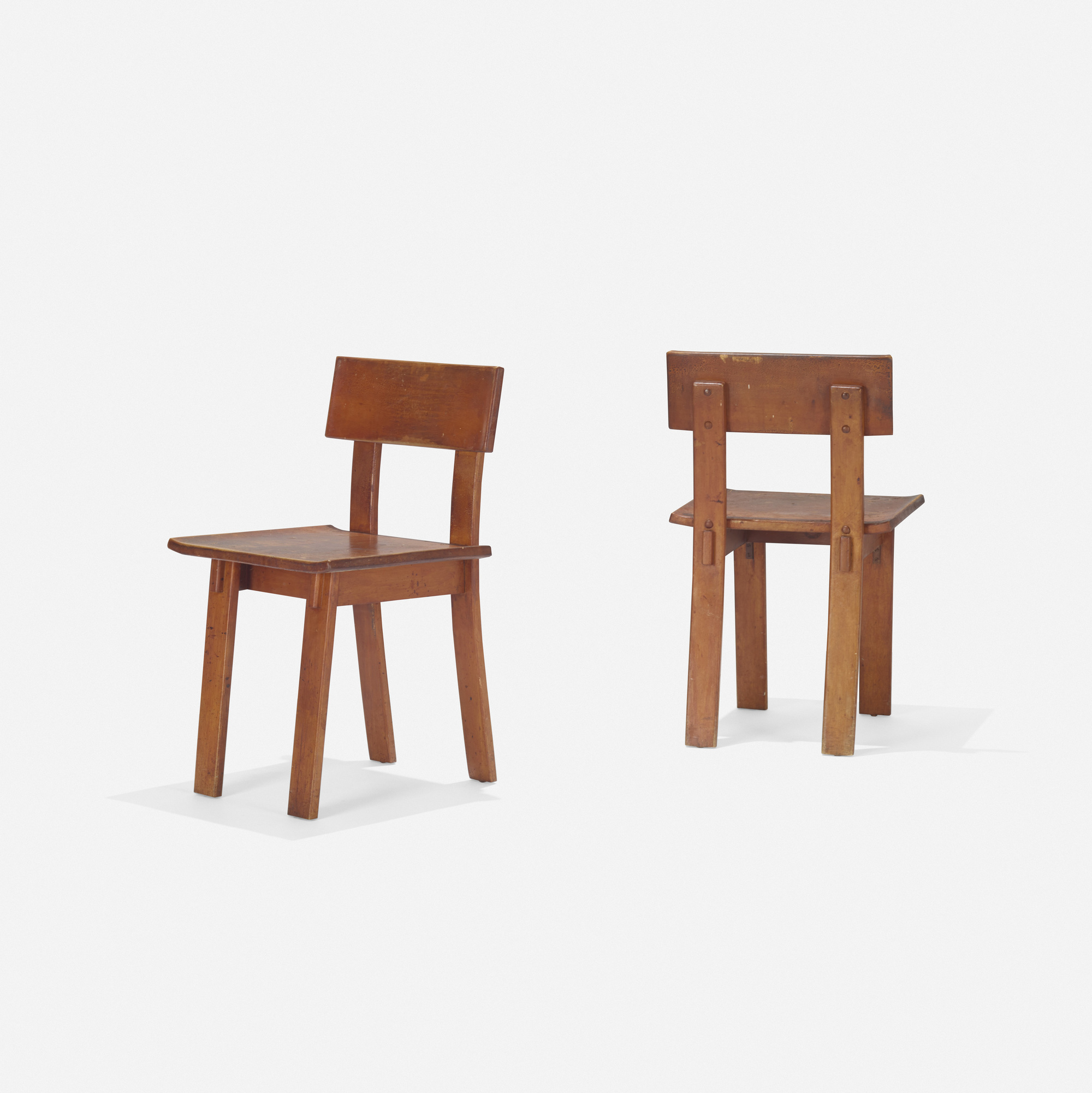 ... 184: Russel Wright / Chairs, Pair (2 Of 4)