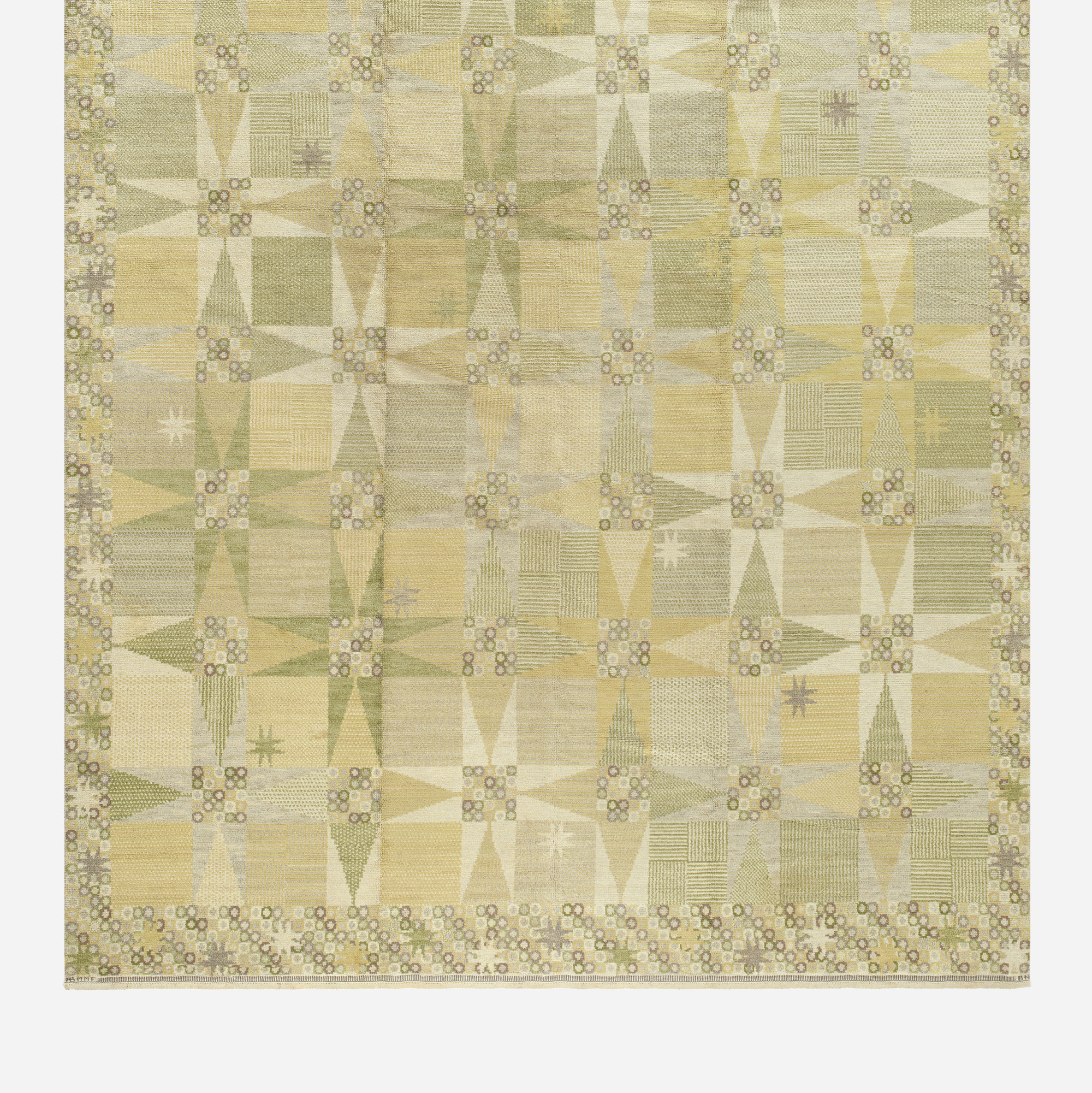 184: Barbro Nilsson / Stjärnflossan pile carpet (2 of 2)