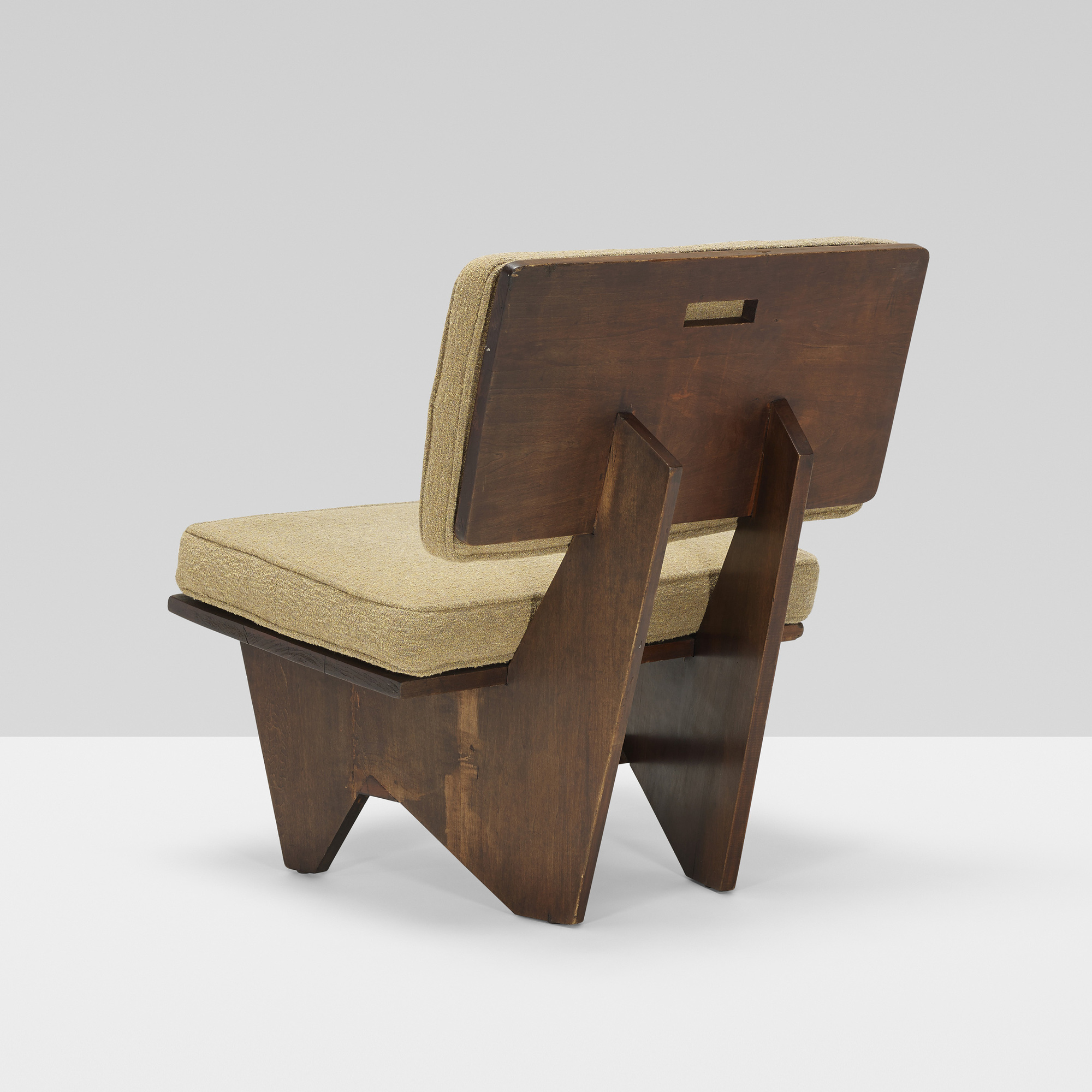 Terrific 185 Frank Lloyd Wright Lounge Chair From The Winn House Theyellowbook Wood Chair Design Ideas Theyellowbookinfo