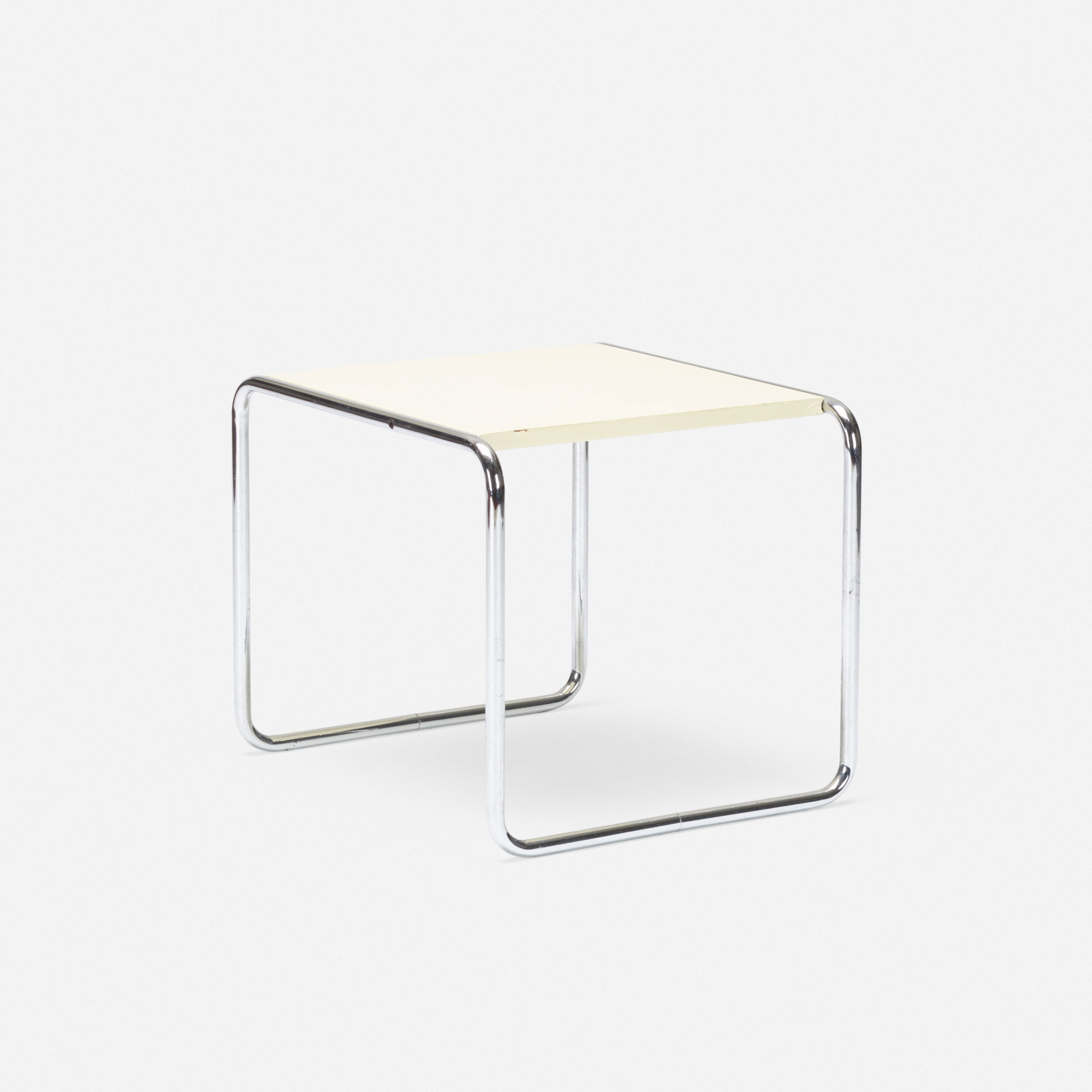 185: Marcel Breuer / occasional table, model B9 (1 of 2)