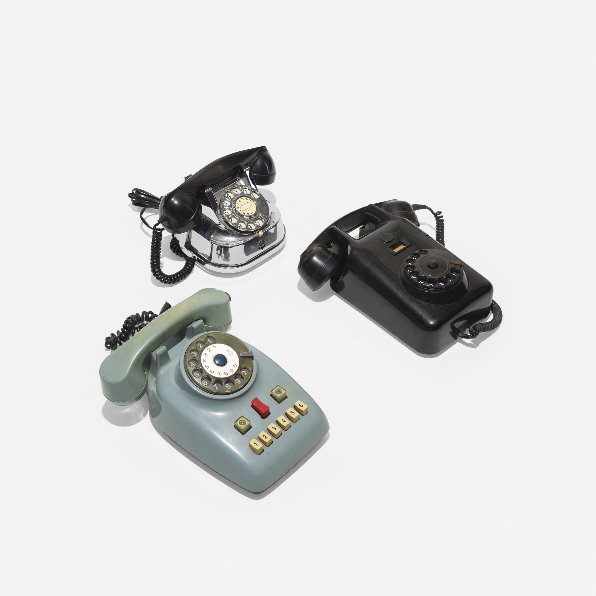 185: Various Artists / collection of three telephones (1 of 1)