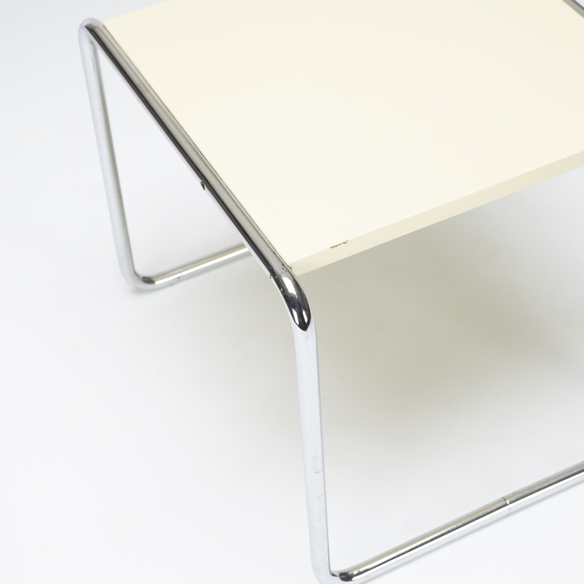 185: Marcel Breuer / occasional table, model B9 (2 of 2)