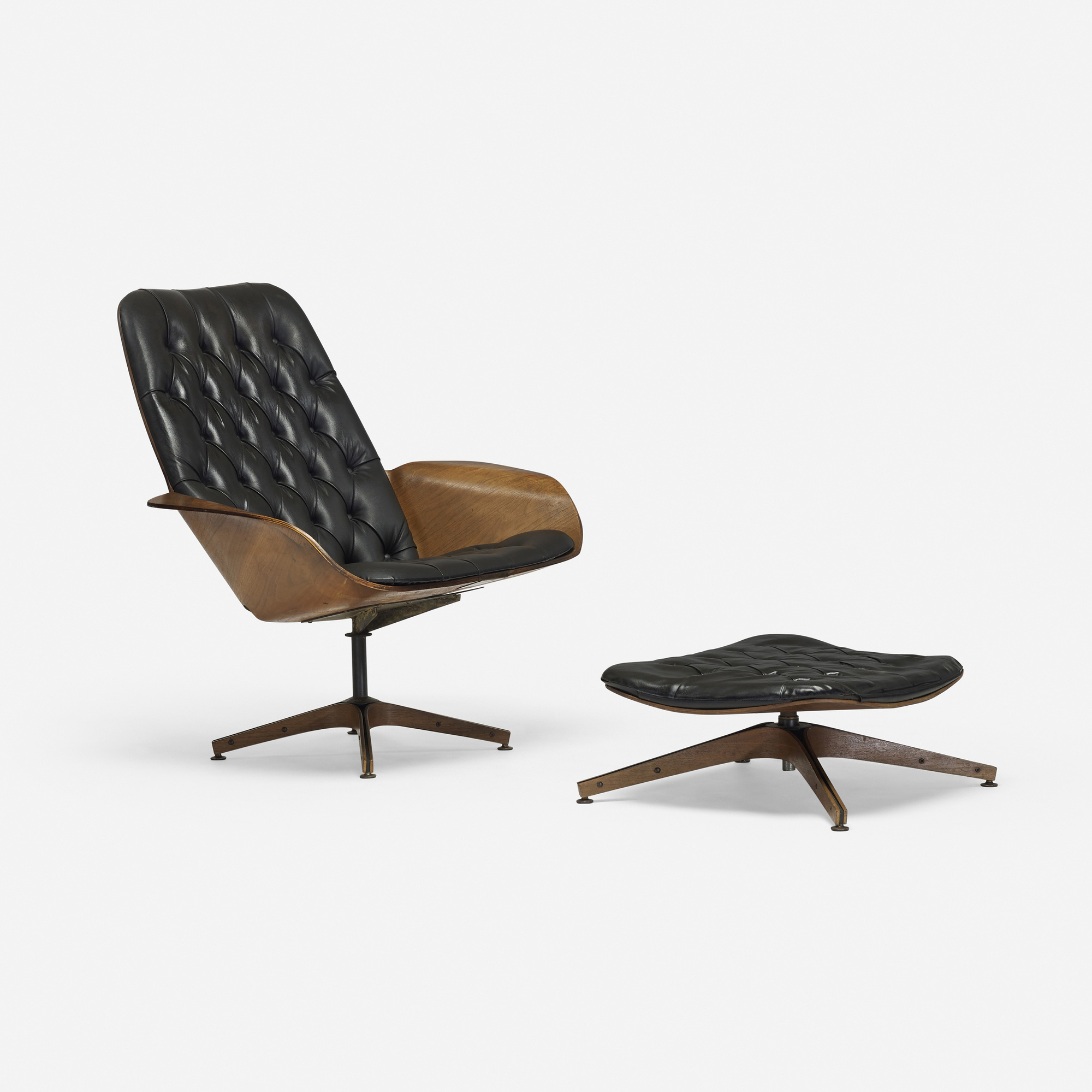 187: George Mulhauser / Mr. Chair Lounge Chair And Ottoman (1 Of 3
