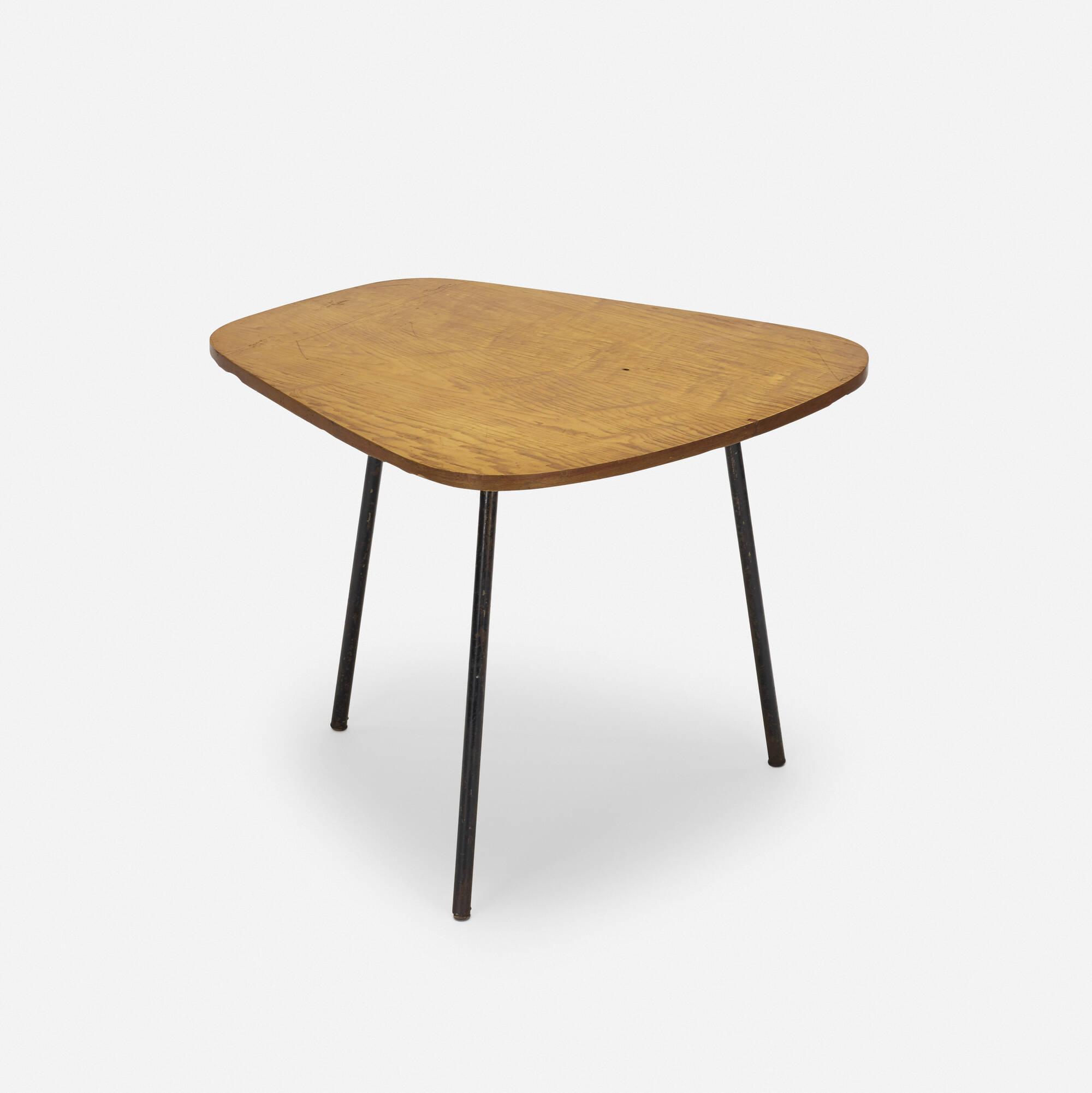 187 charlotte perriand rare table from maison de la tunisie cité internationale universitaire