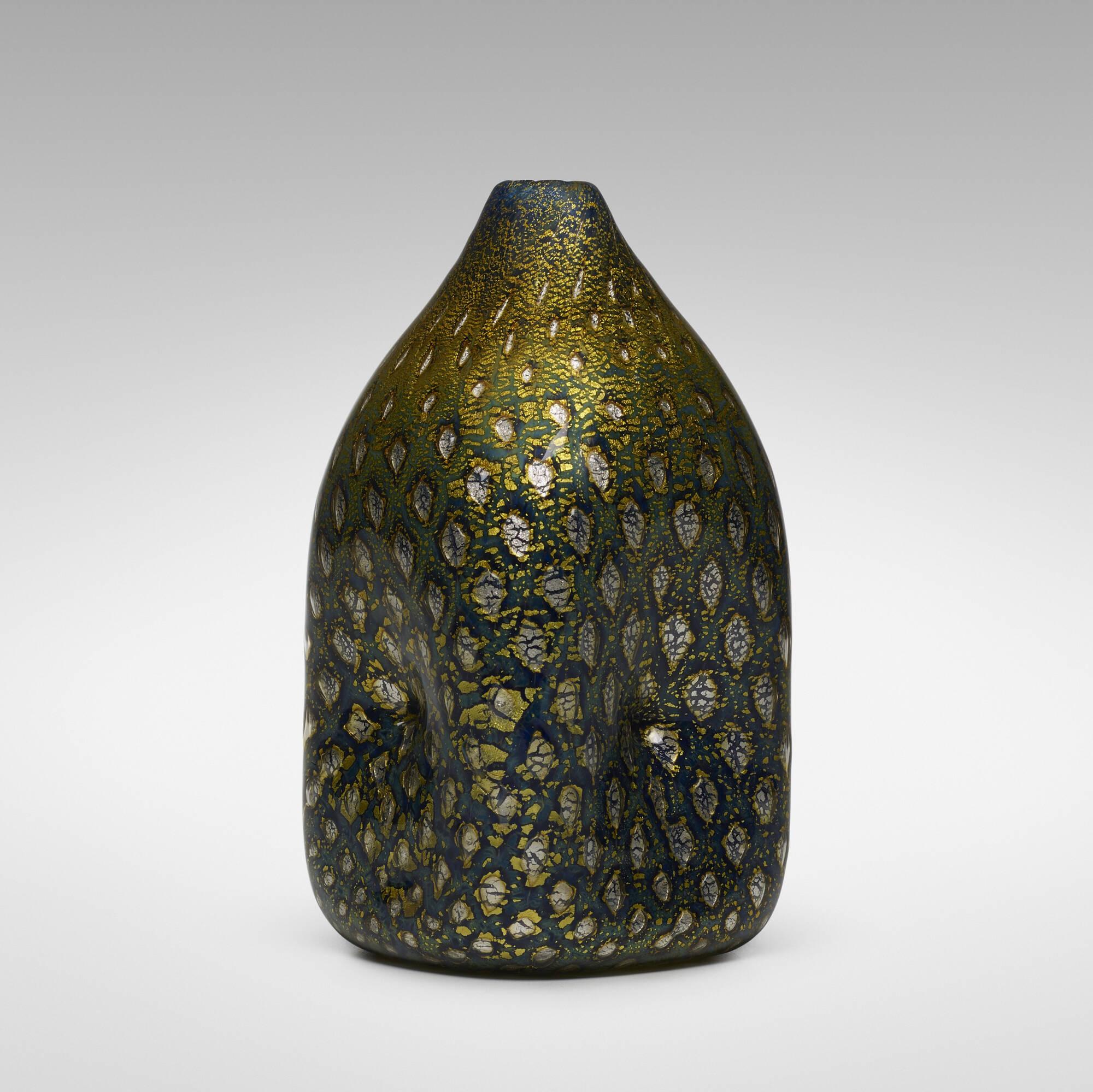 187: Giulio Radi / A Reazione Polichrome vase (1 of 3)