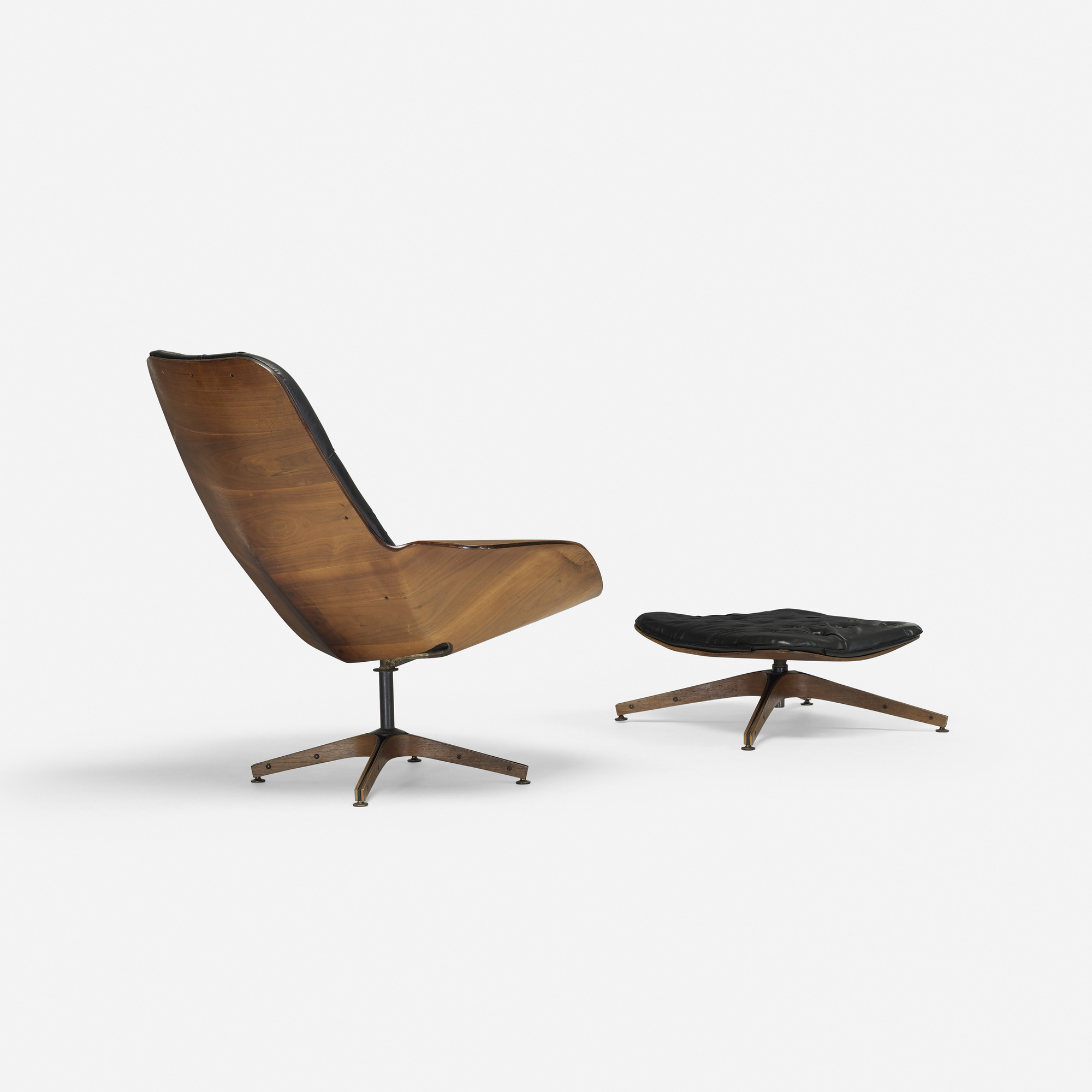... 187: George Mulhauser / Mr. Chair Lounge Chair And Ottoman (2 Of 3